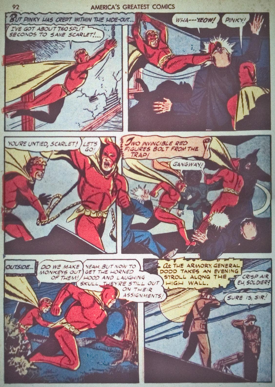 Read online America's Greatest Comics comic -  Issue #1 - 95