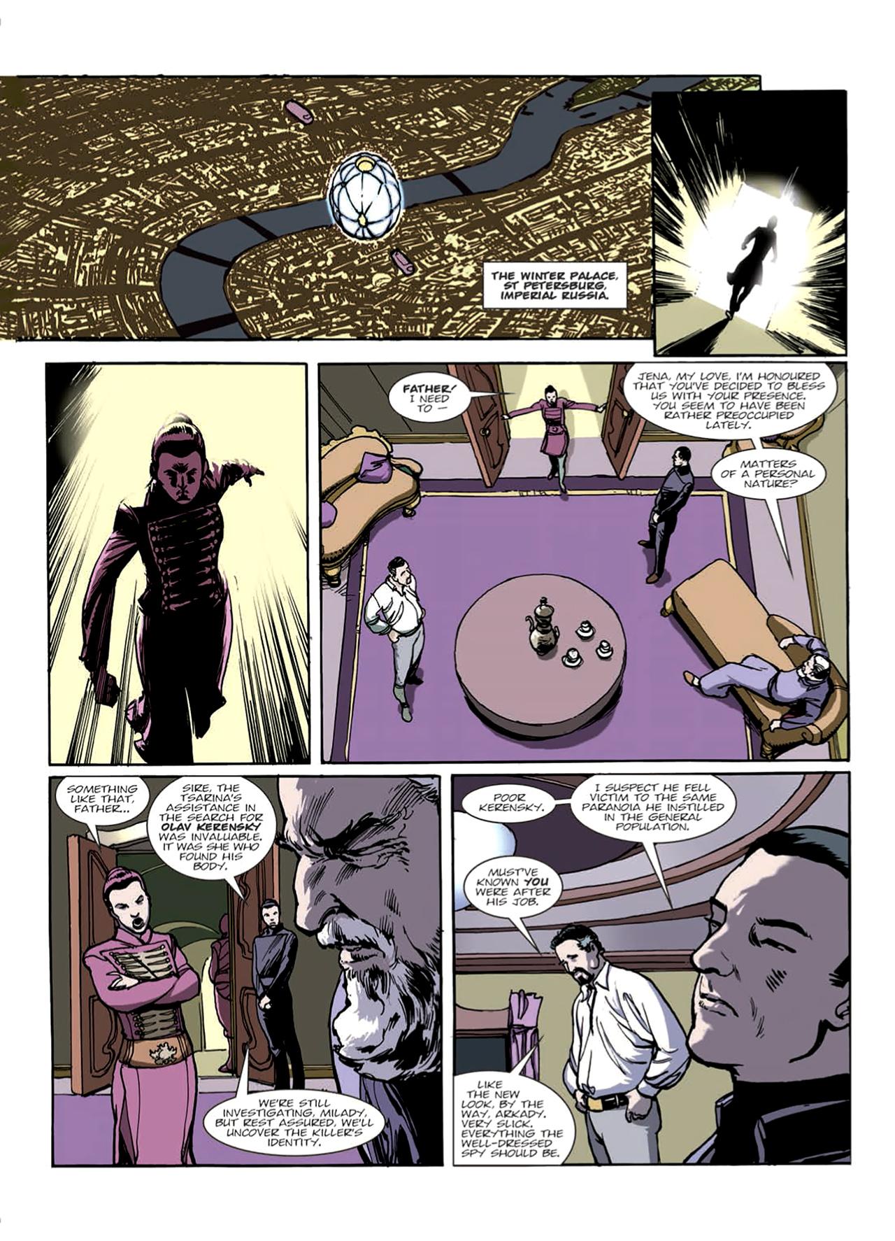 Read online Nikolai Dante comic -  Issue # TPB 9 - 12