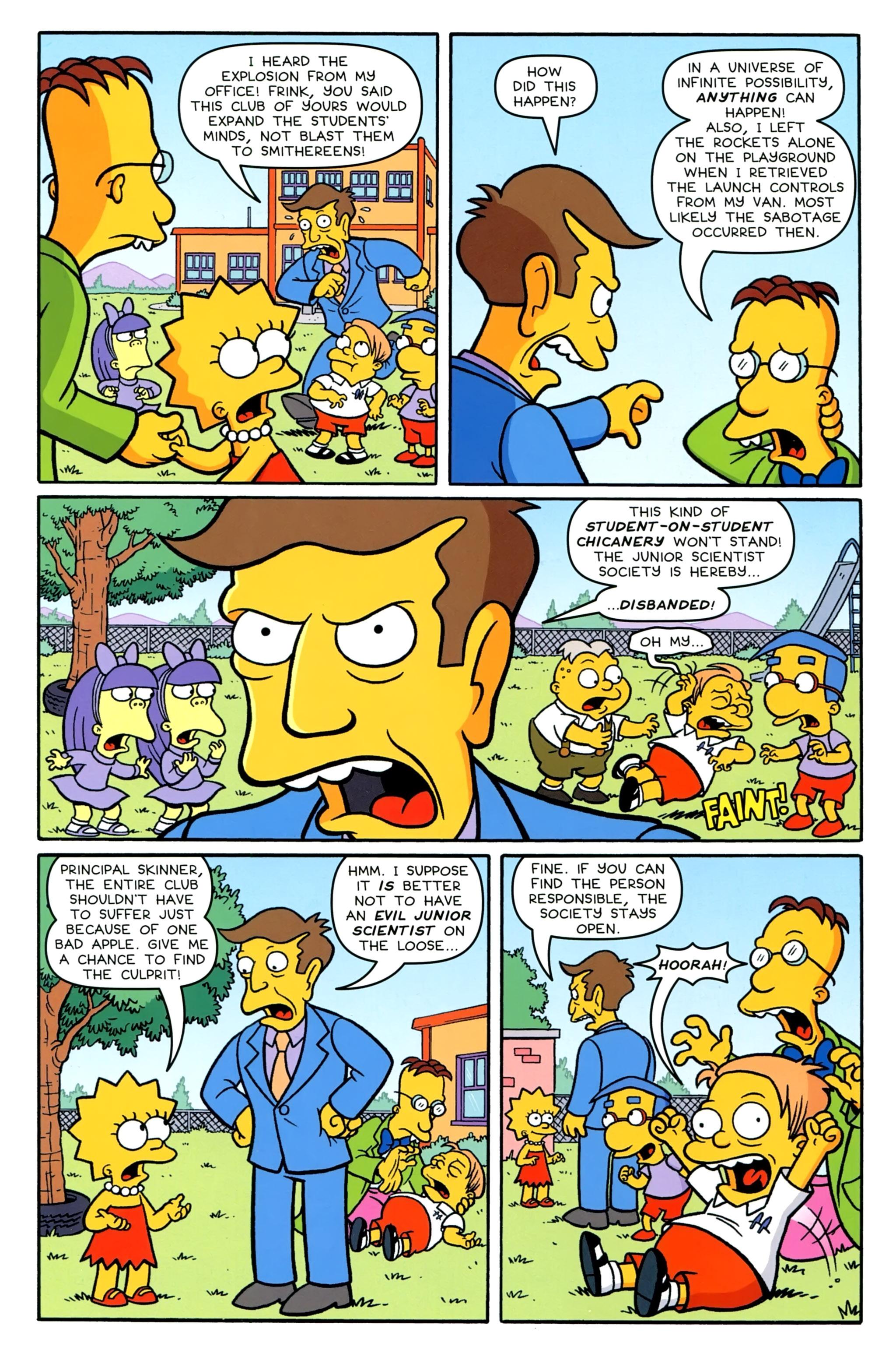 Read online Simpsons Comics comic -  Issue #231 - 17