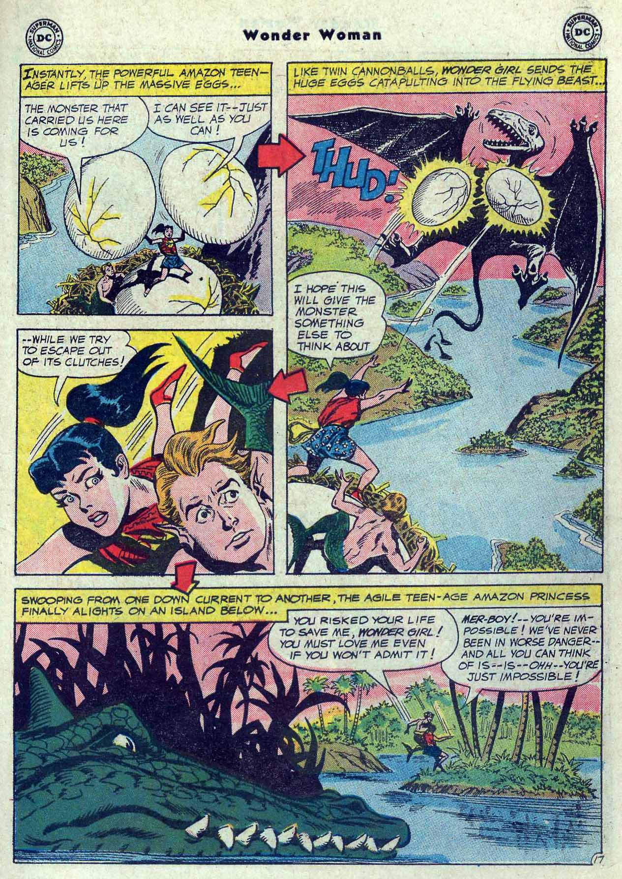 Read online Wonder Woman (1942) comic -  Issue #121 - 23