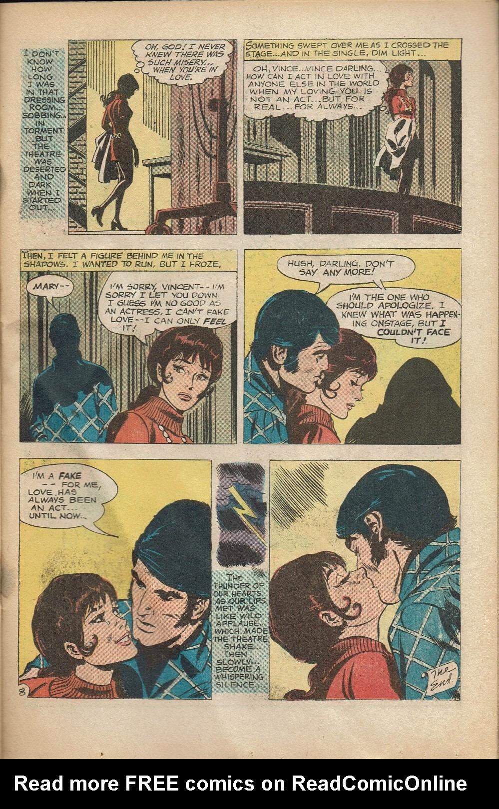 Read online Secret Hearts comic -  Issue #152 - 23