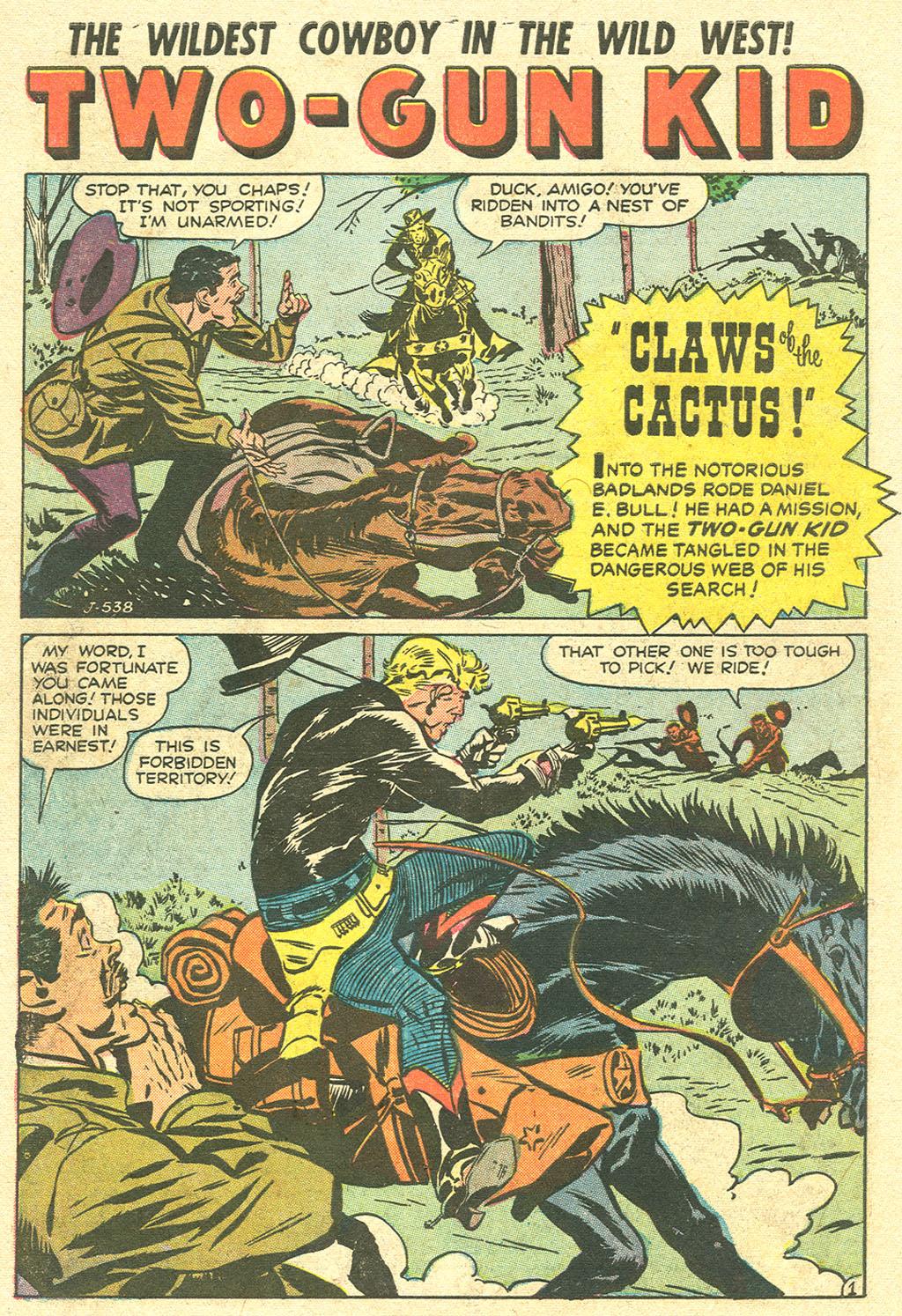 Read online Two-Gun Kid comic -  Issue #32 - 10