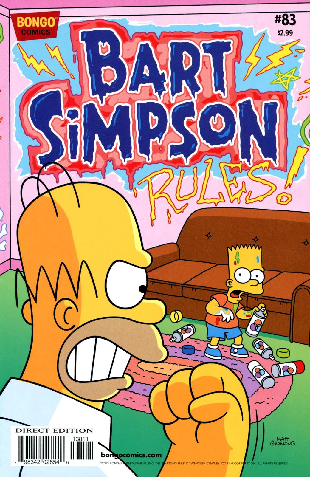 Simpsons Comics Presents Bart Simpson 83 Page 1