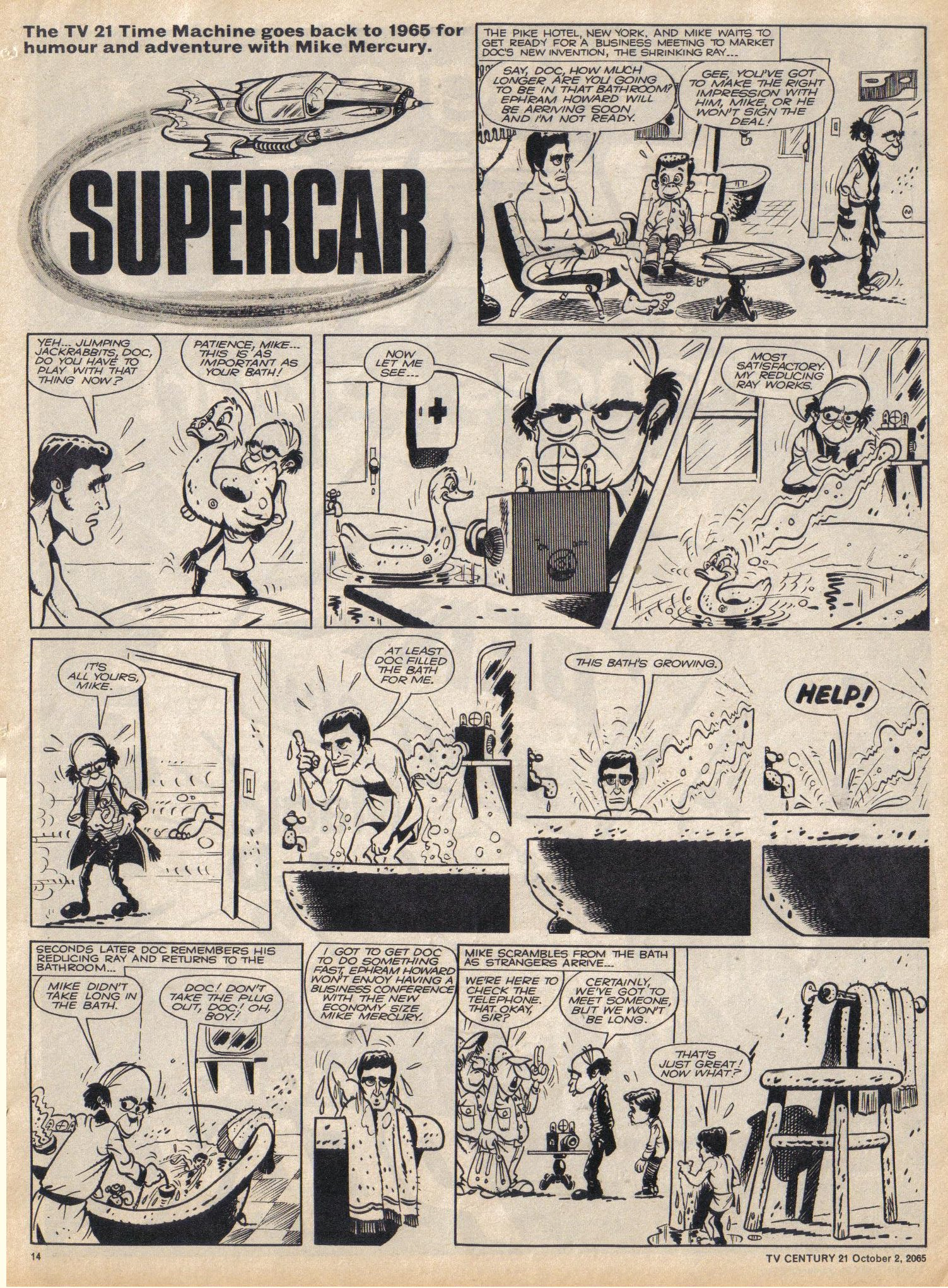 Read online TV Century 21 (TV 21) comic -  Issue #37 - 13
