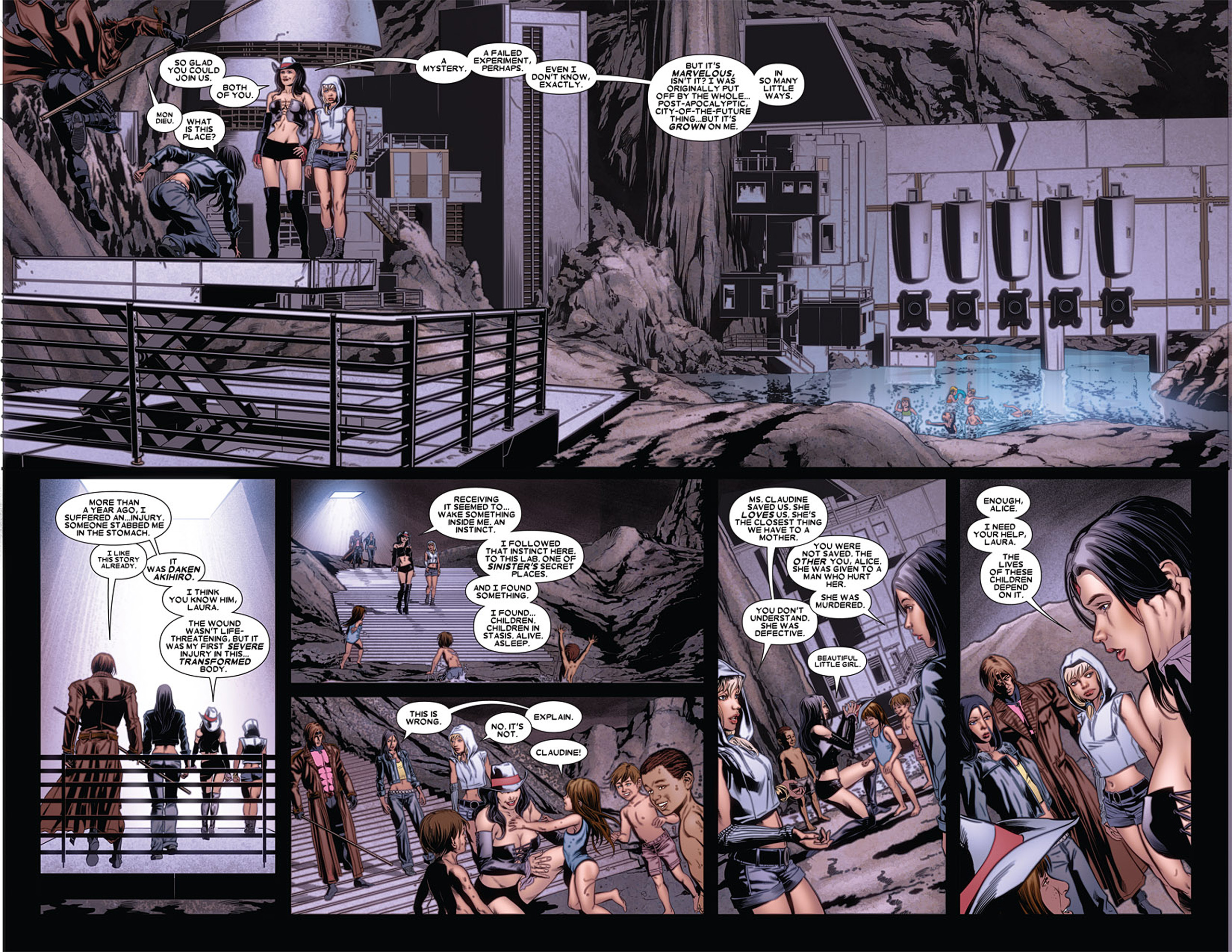 Read online X-23 (2010) comic -  Issue #5 - 6