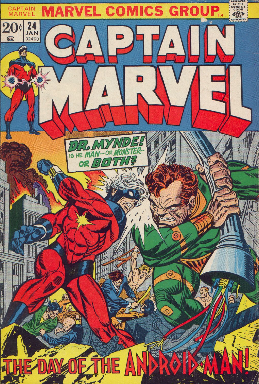 Captain Marvel (1968) 24 Page 1