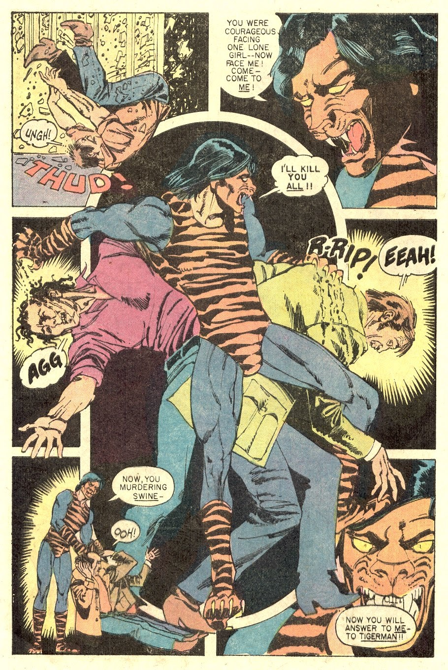 Read online Tiger-Man comic -  Issue #1 - 28