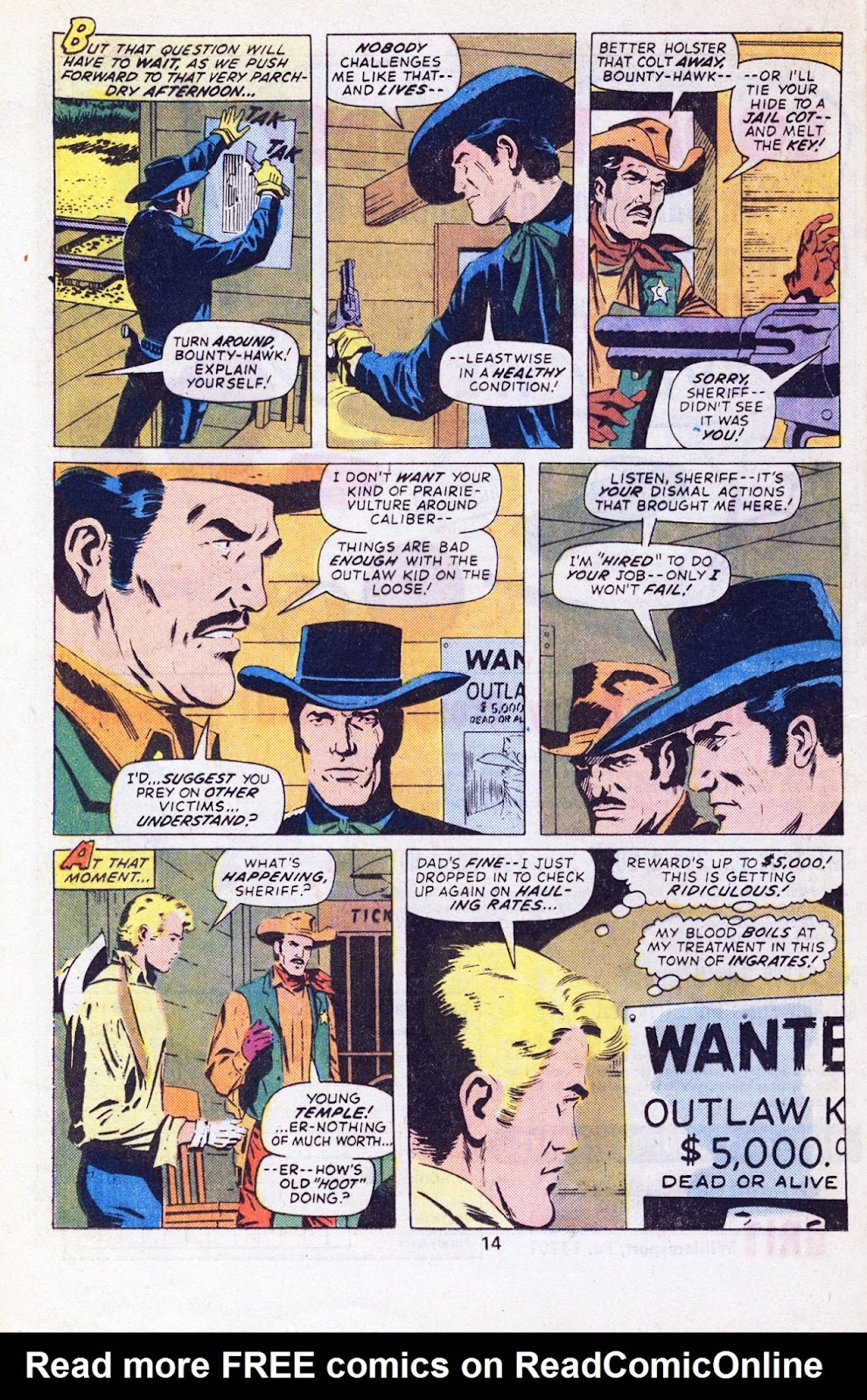 The Outlaw Kid (1970) issue 29 - Page 16