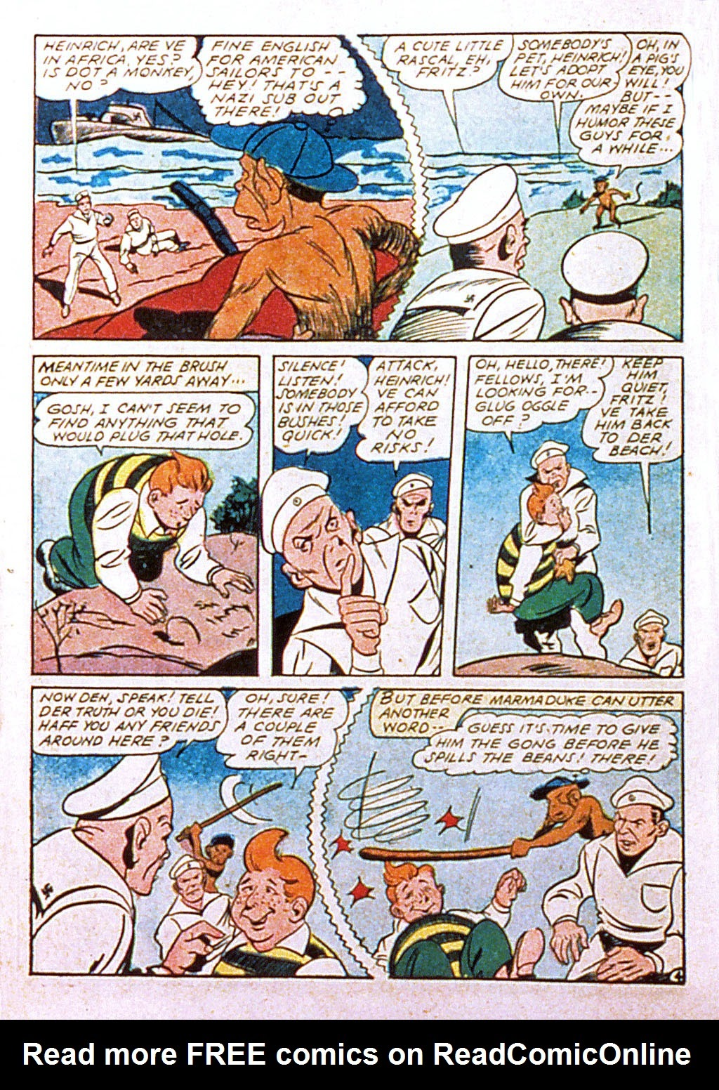 Read online Mystic Comics (1944) comic -  Issue #2 - 46