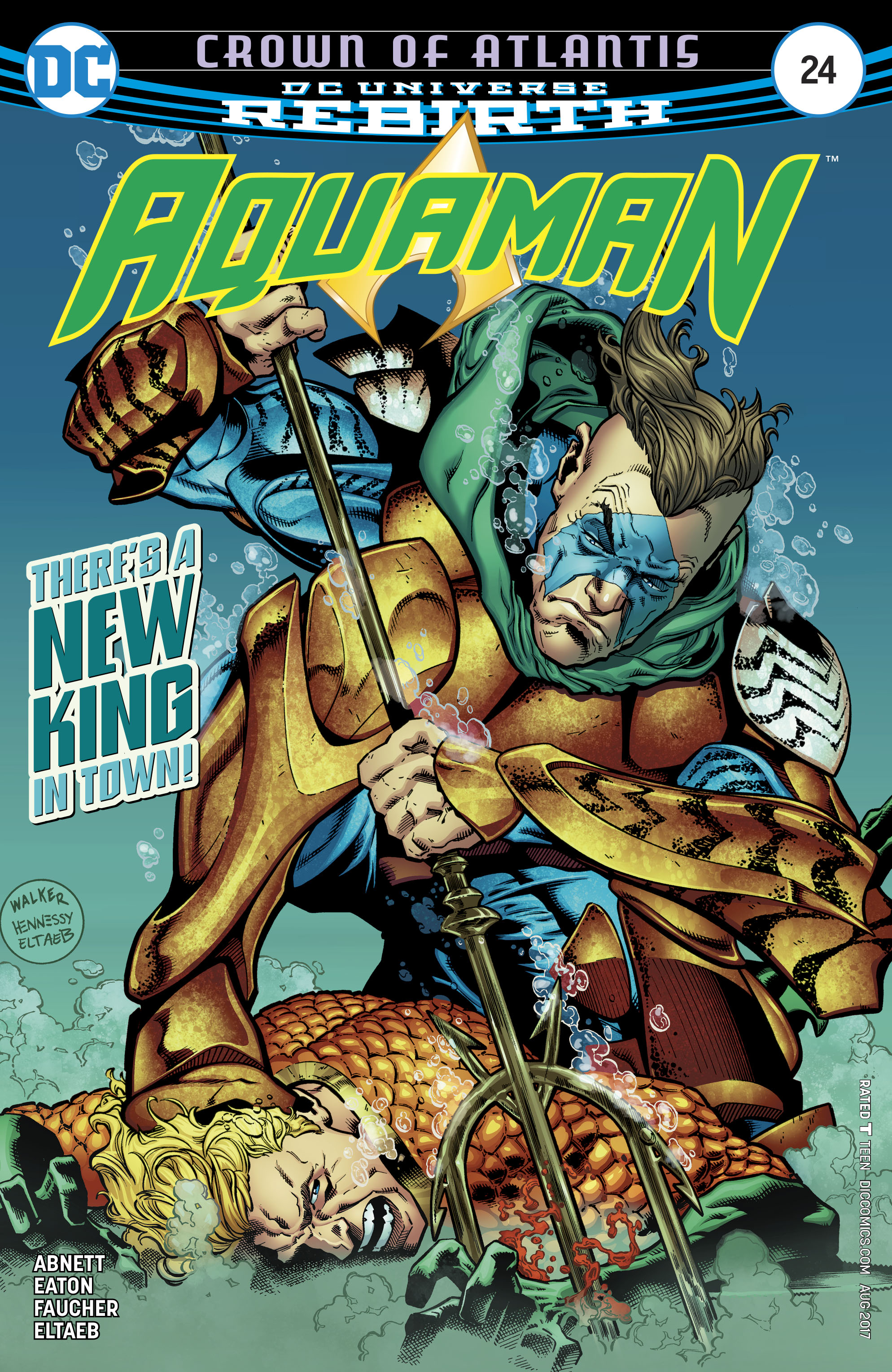 Read online Aquaman (2016) comic -  Issue #24 - 1