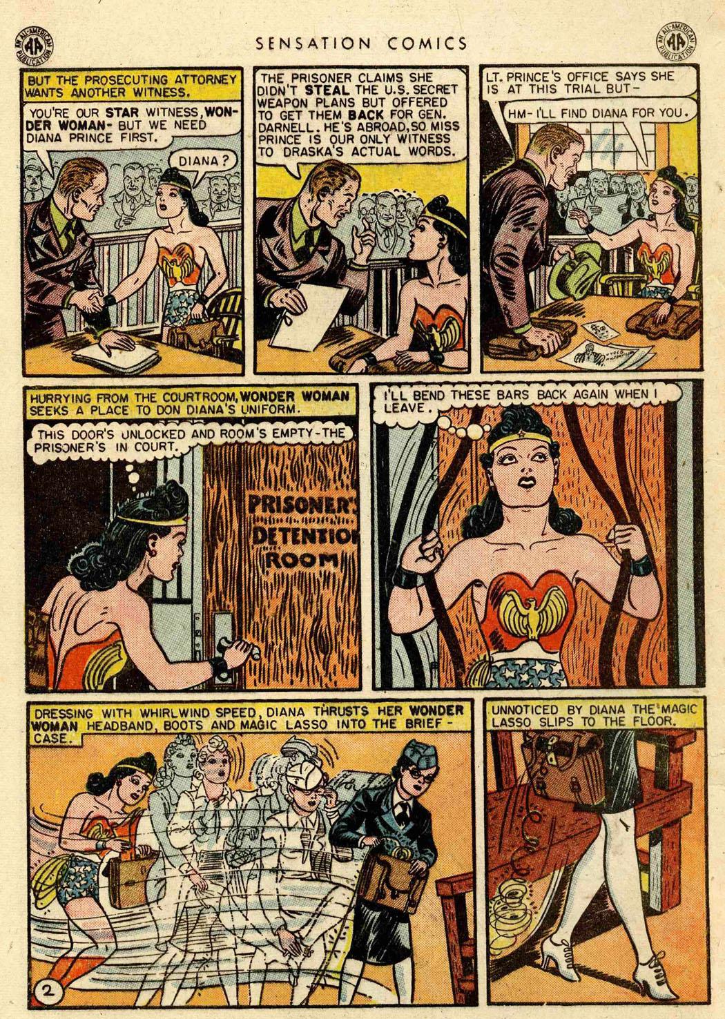 Read online Sensation (Mystery) Comics comic -  Issue #42 - 4