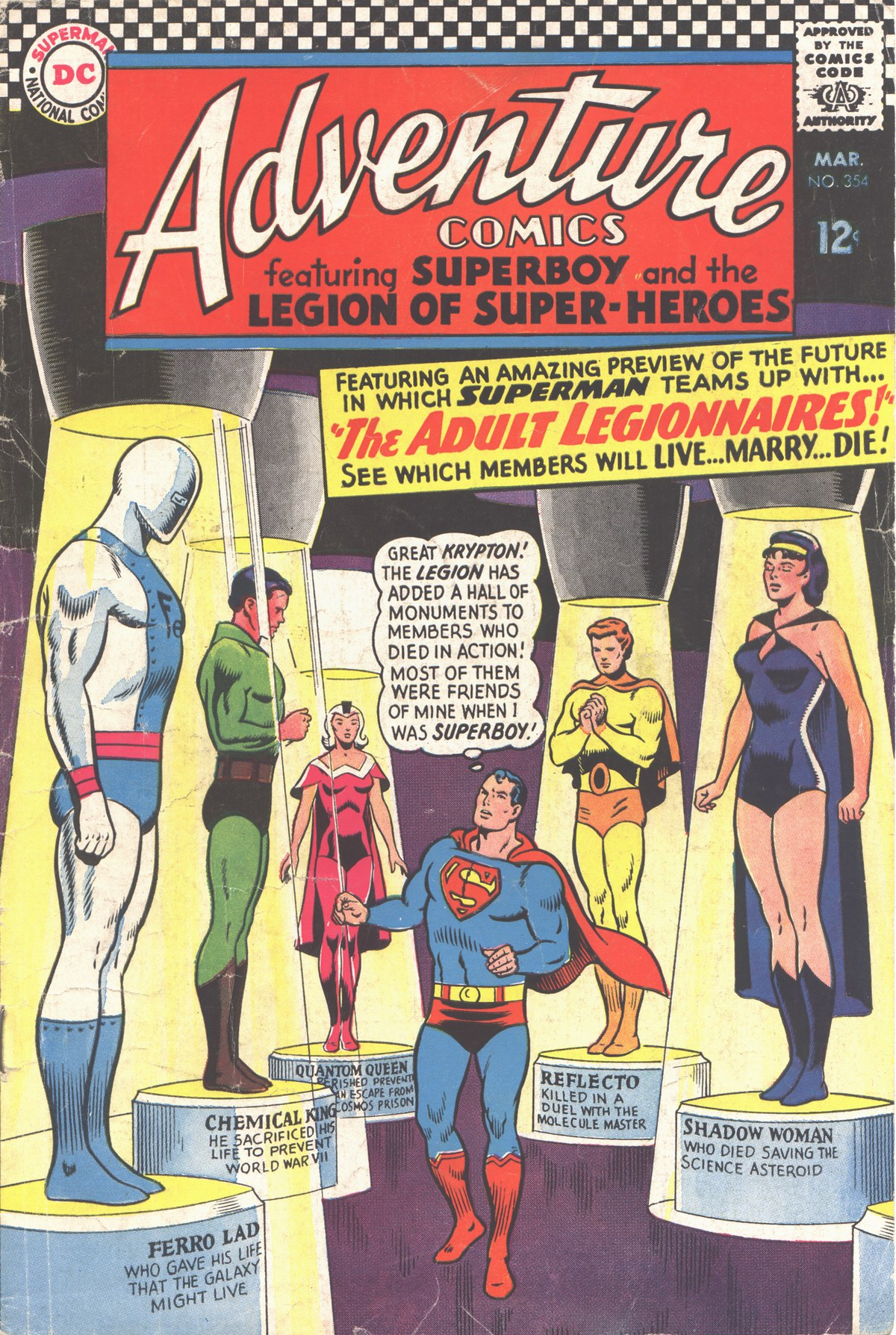 Read online Adventure Comics (1938) comic -  Issue #354 - 1