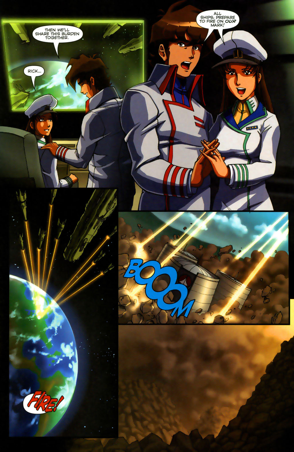 Read online Robotech: Invasion comic -  Issue #5 - 21