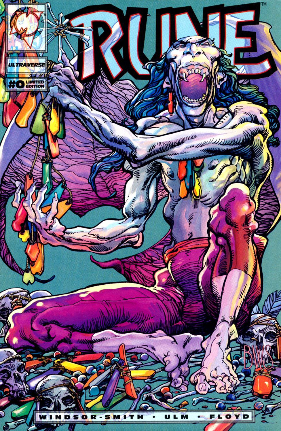 Read online Rune (1994) comic -  Issue #0 - 1
