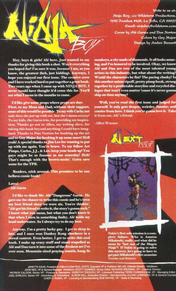 Read online Ninja Boy comic -  Issue #1 - 34