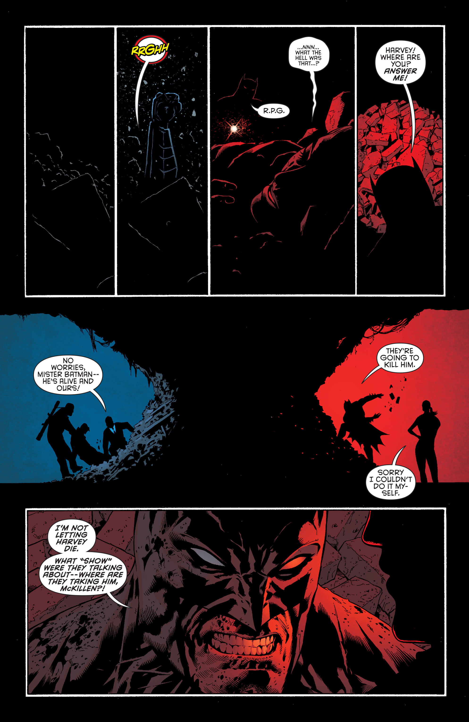 Read online Batman and Robin (2011) comic -  Issue #27 - Batman and Two-Face - 12