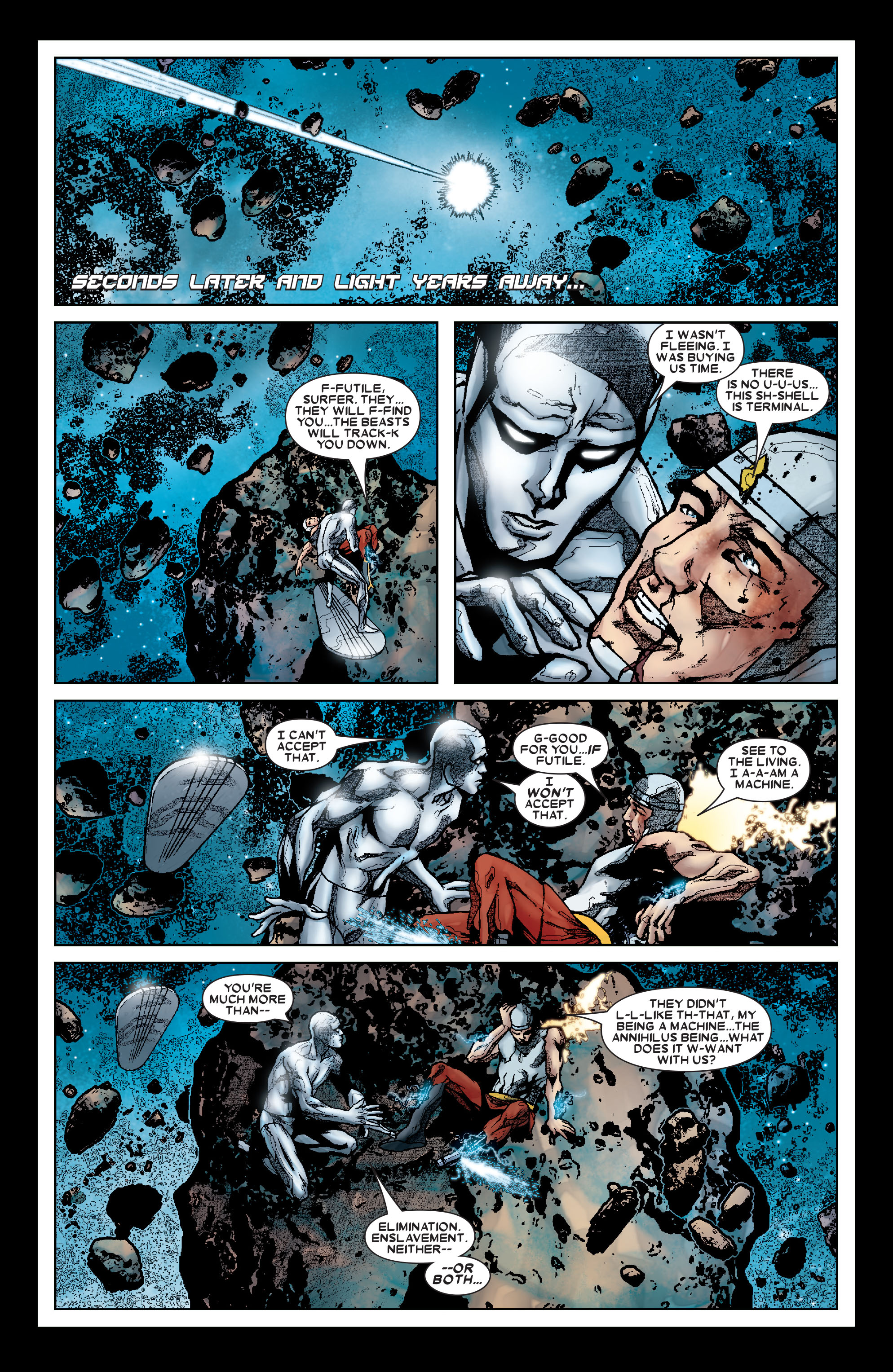 Read online Annihilation: Silver Surfer comic -  Issue #1 - 13