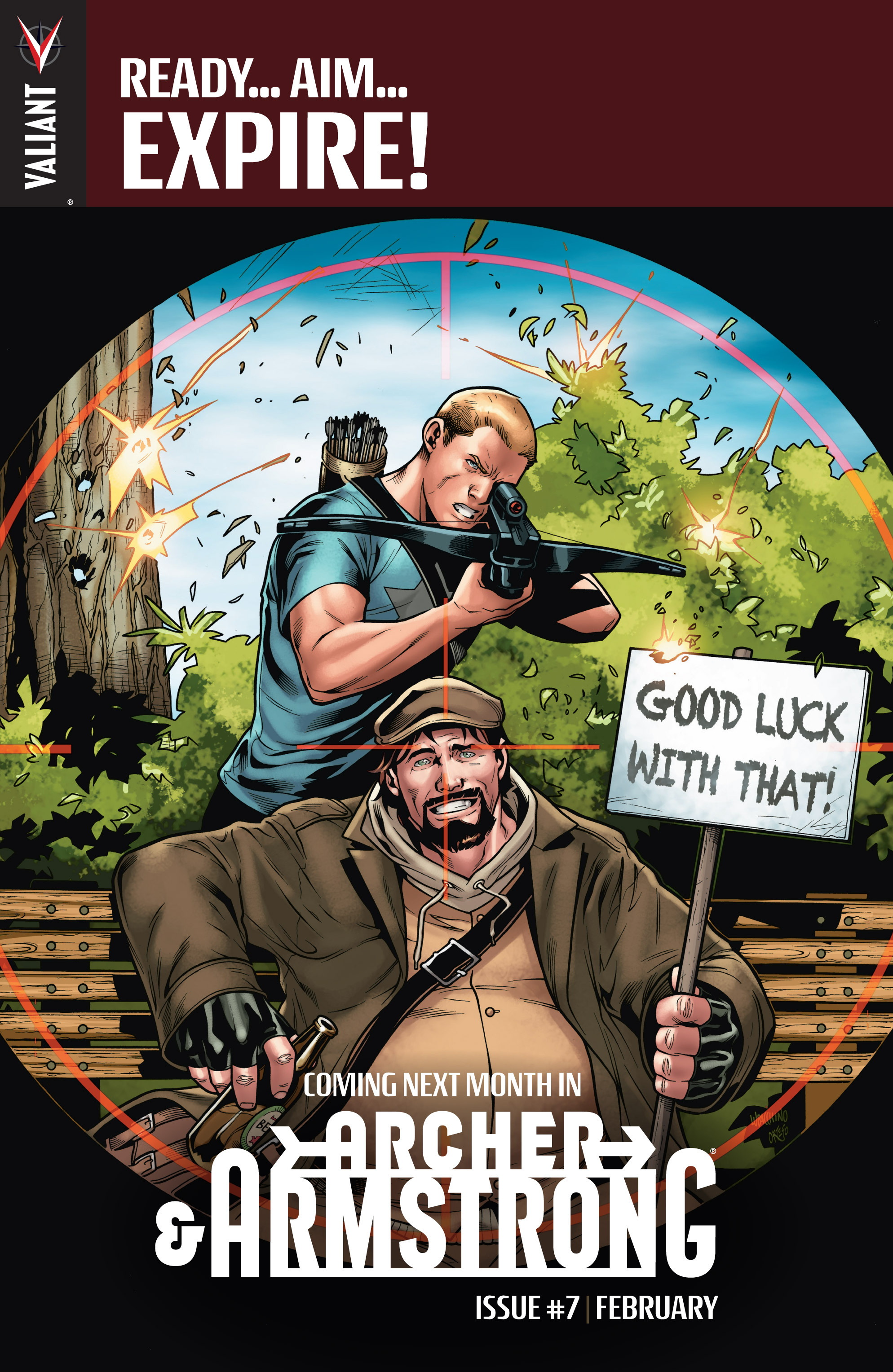 Read online Archer and Armstrong comic -  Issue #6 - 25