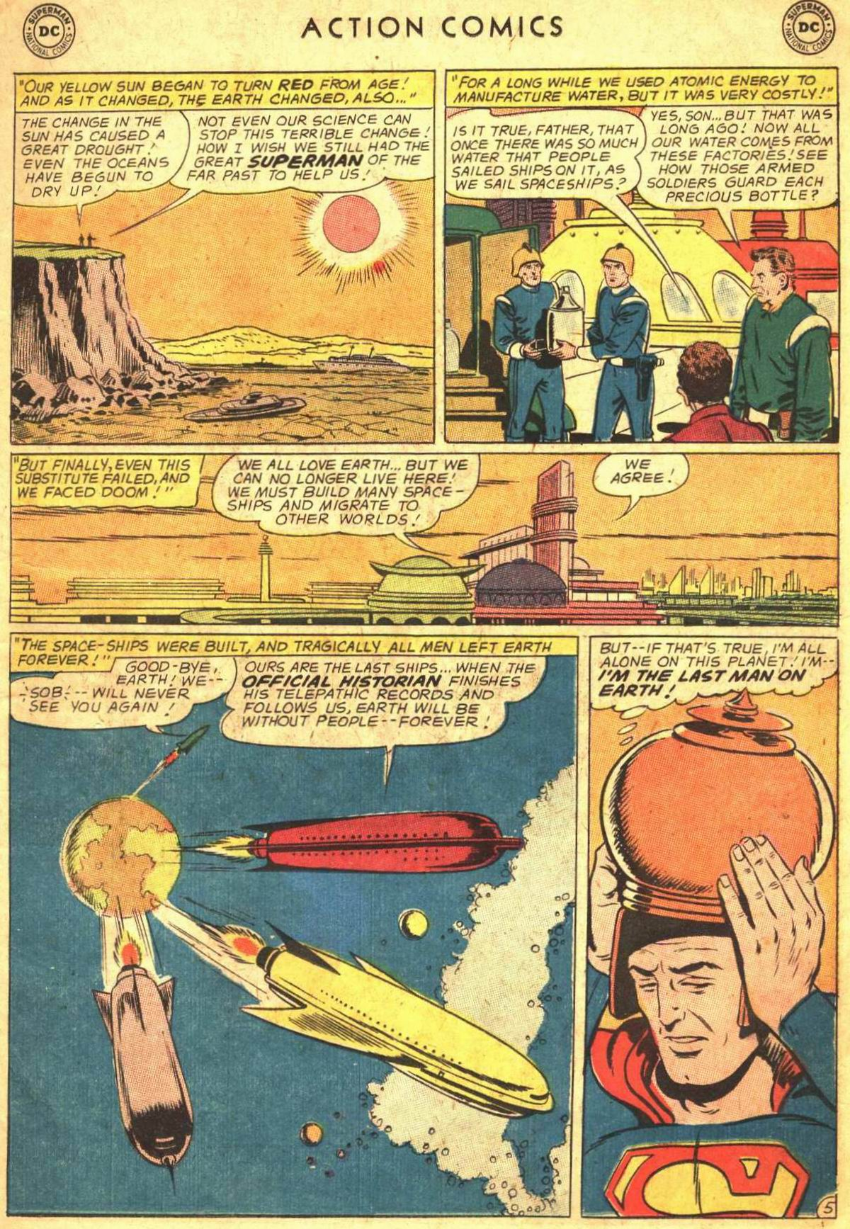 Read online Action Comics (1938) comic -  Issue #300 - 7