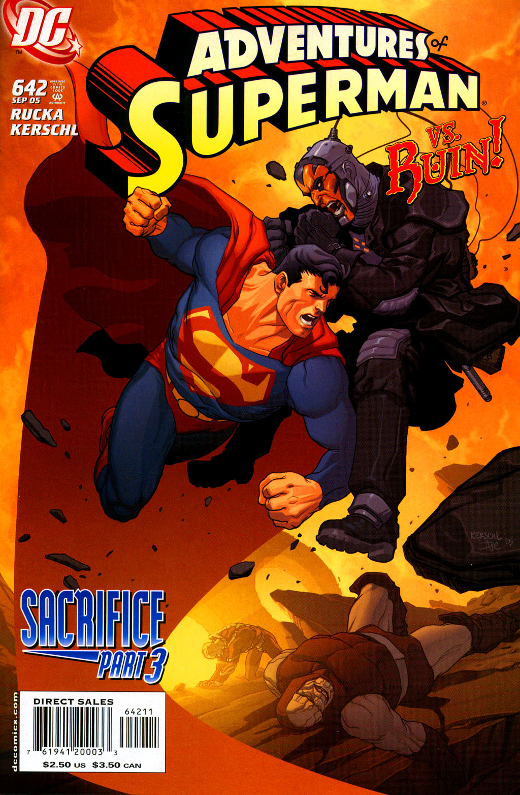 Read online Adventures of Superman (1987) comic -  Issue #642 - 1