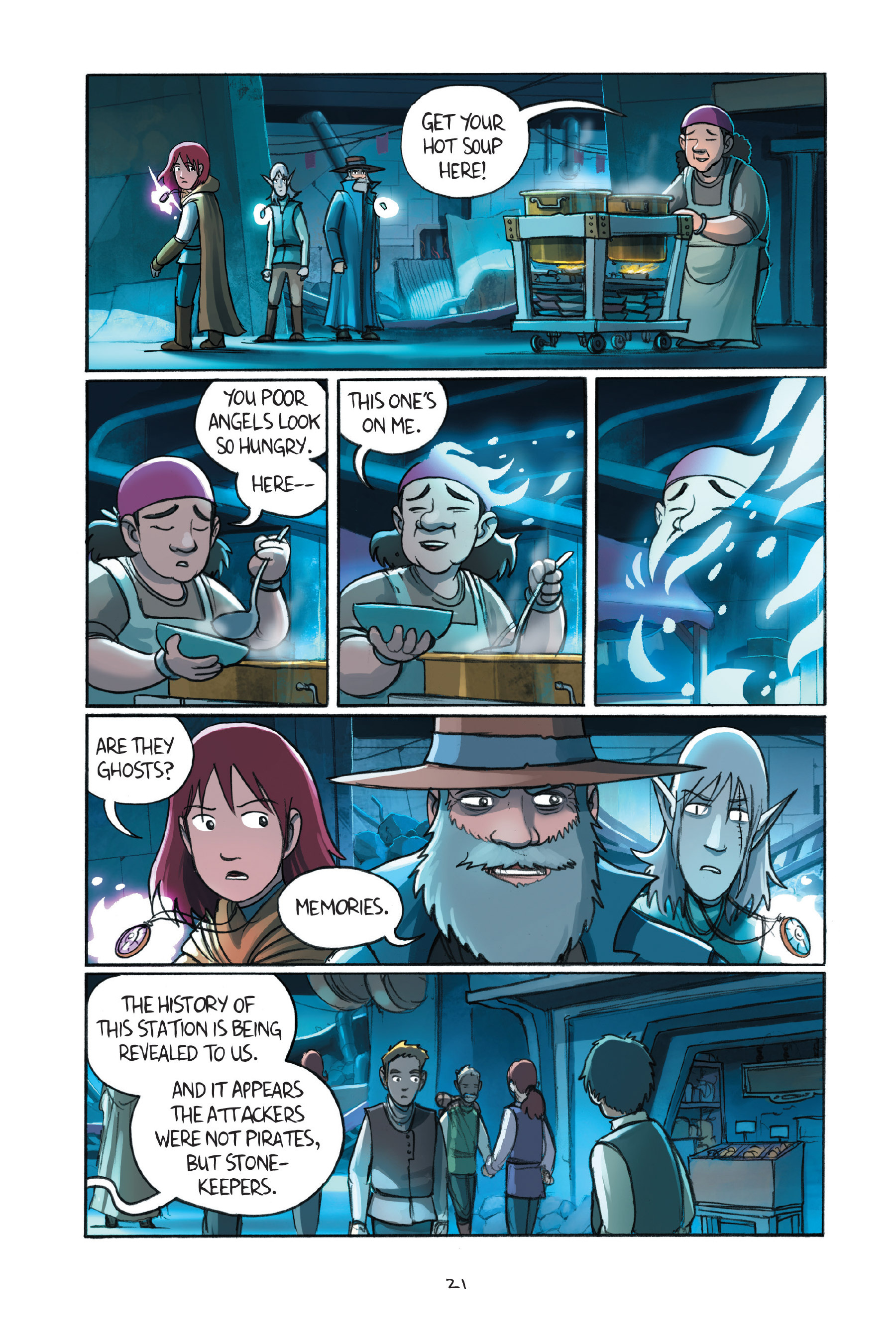 Read online Amulet comic -  Issue #7 - 24