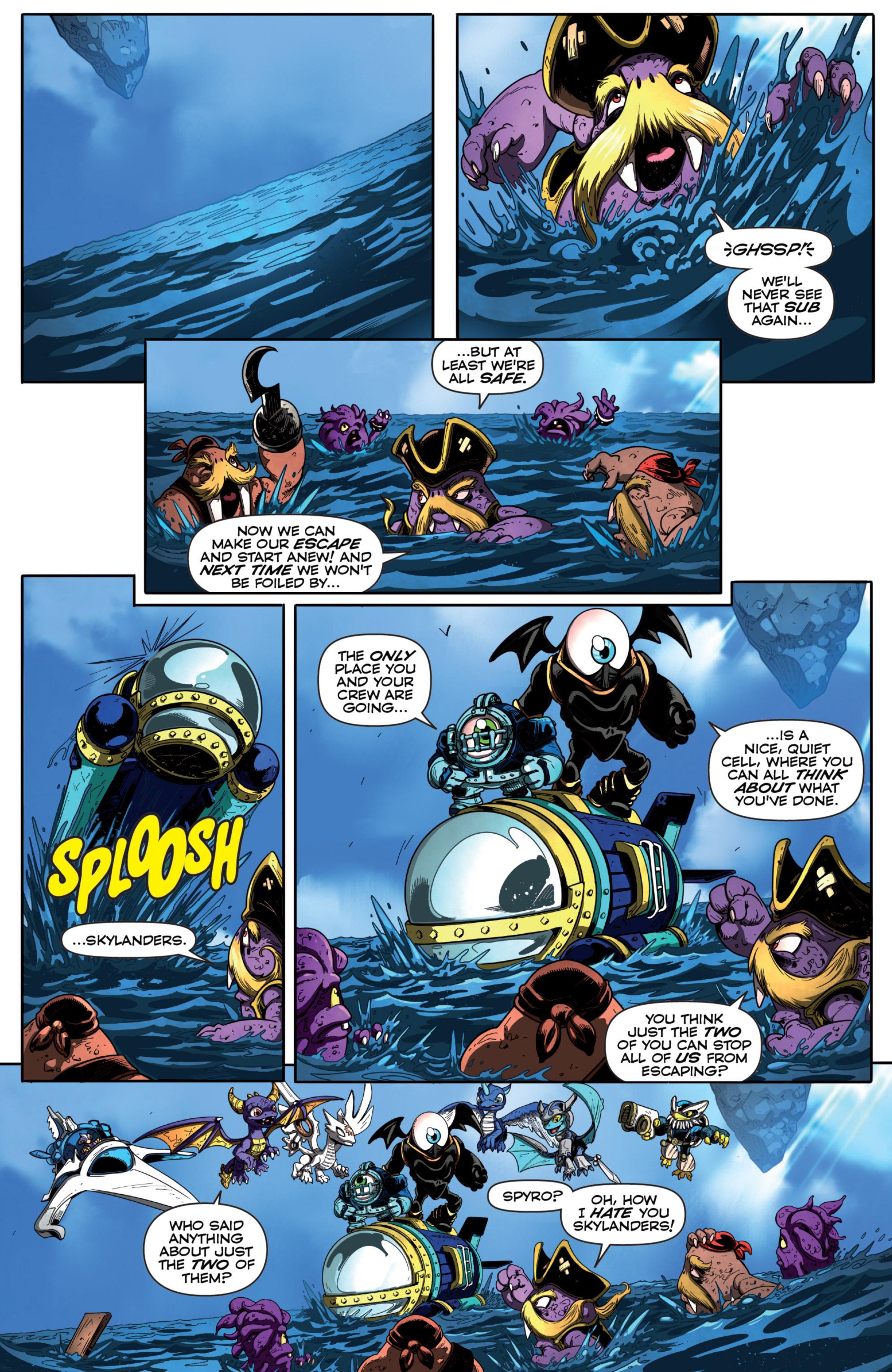 Read online Skylanders Superchargers comic -  Issue #6 - 16