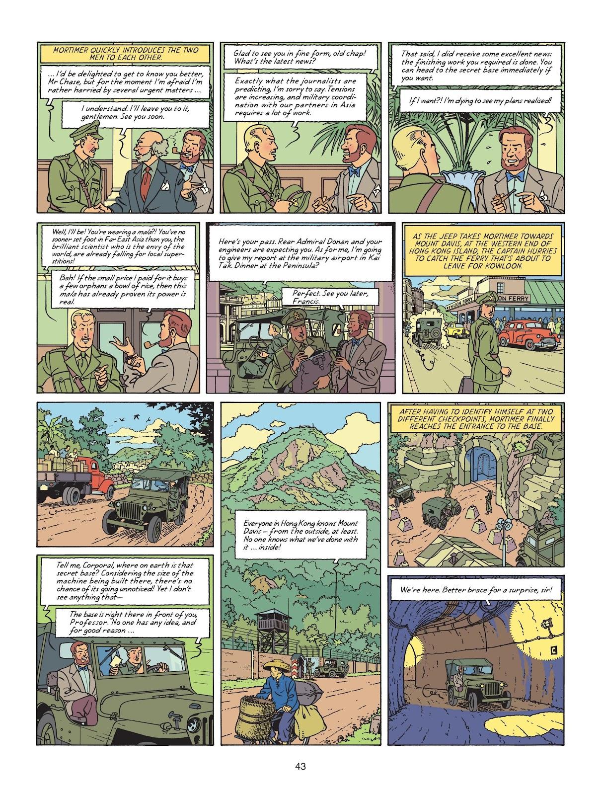 Read online Blake & Mortimer comic -  Issue #25 - 45
