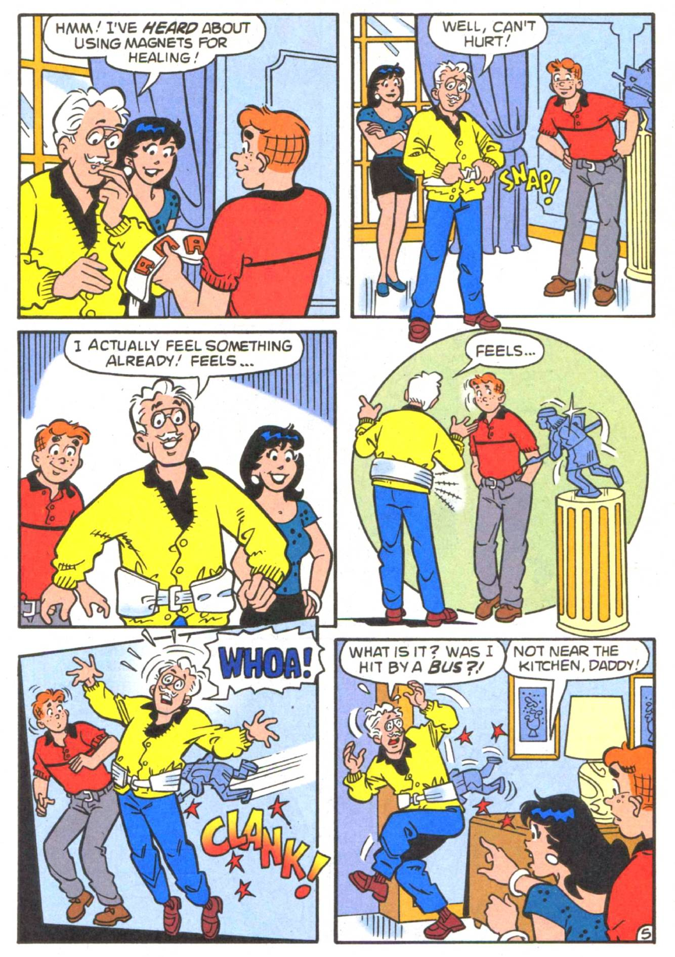 Read online Archie (1960) comic -  Issue #513 - 7
