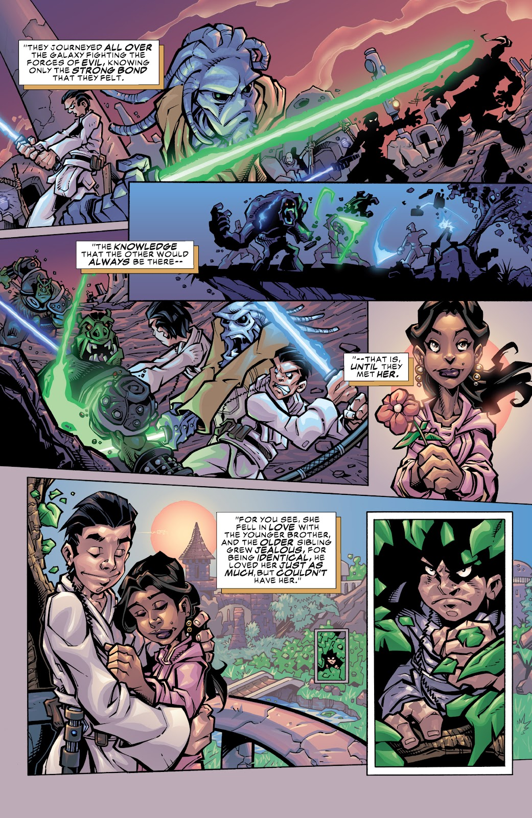 Read online Star Wars Legends: Rise of the Sith - Epic Collection comic -  Issue # TPB 1 (Part 3) - 4