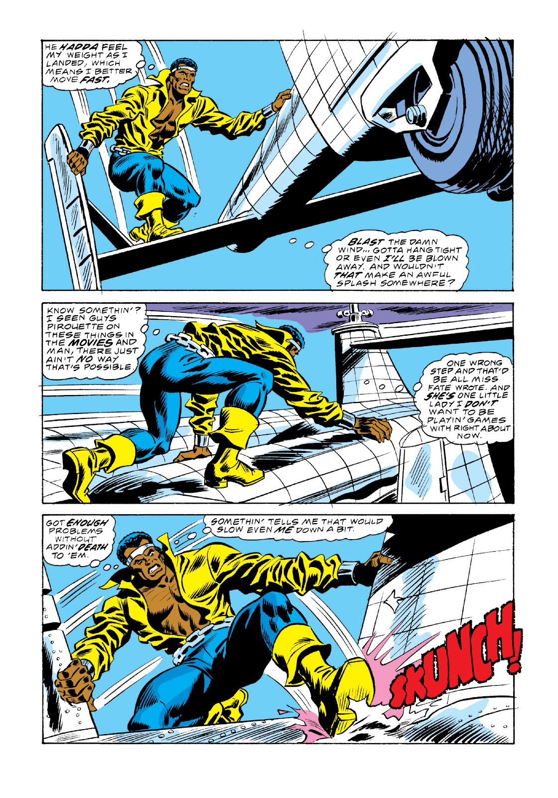 Read online Marvel Masterworks: Luke Cage, Power Man comic -  Issue # TPB 3 (Part 2) - 88