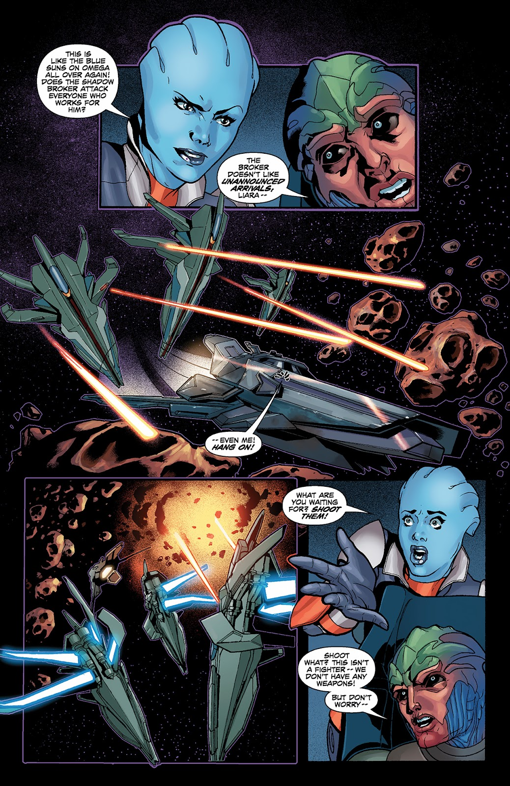 Mass Effect: Redemption Issue #3 #3 - English 9