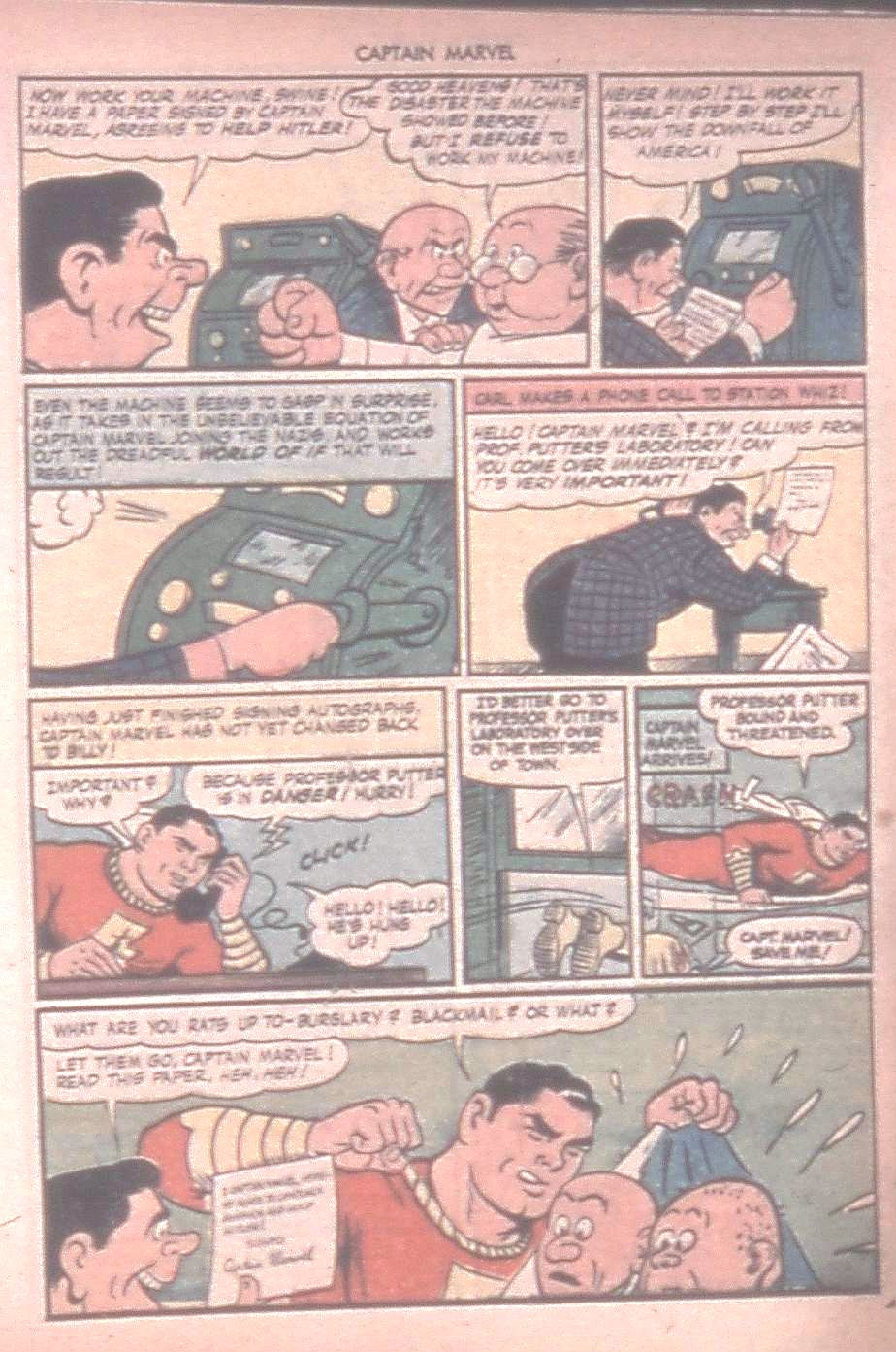 Captain Marvel Adventures issue 42 - Page 21