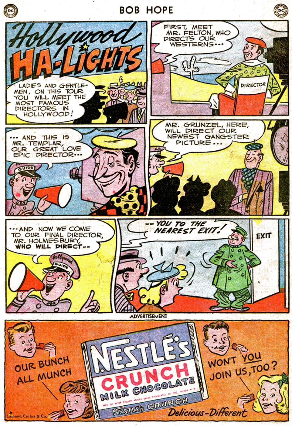 The Adventures of Bob Hope issue 1 - Page 36