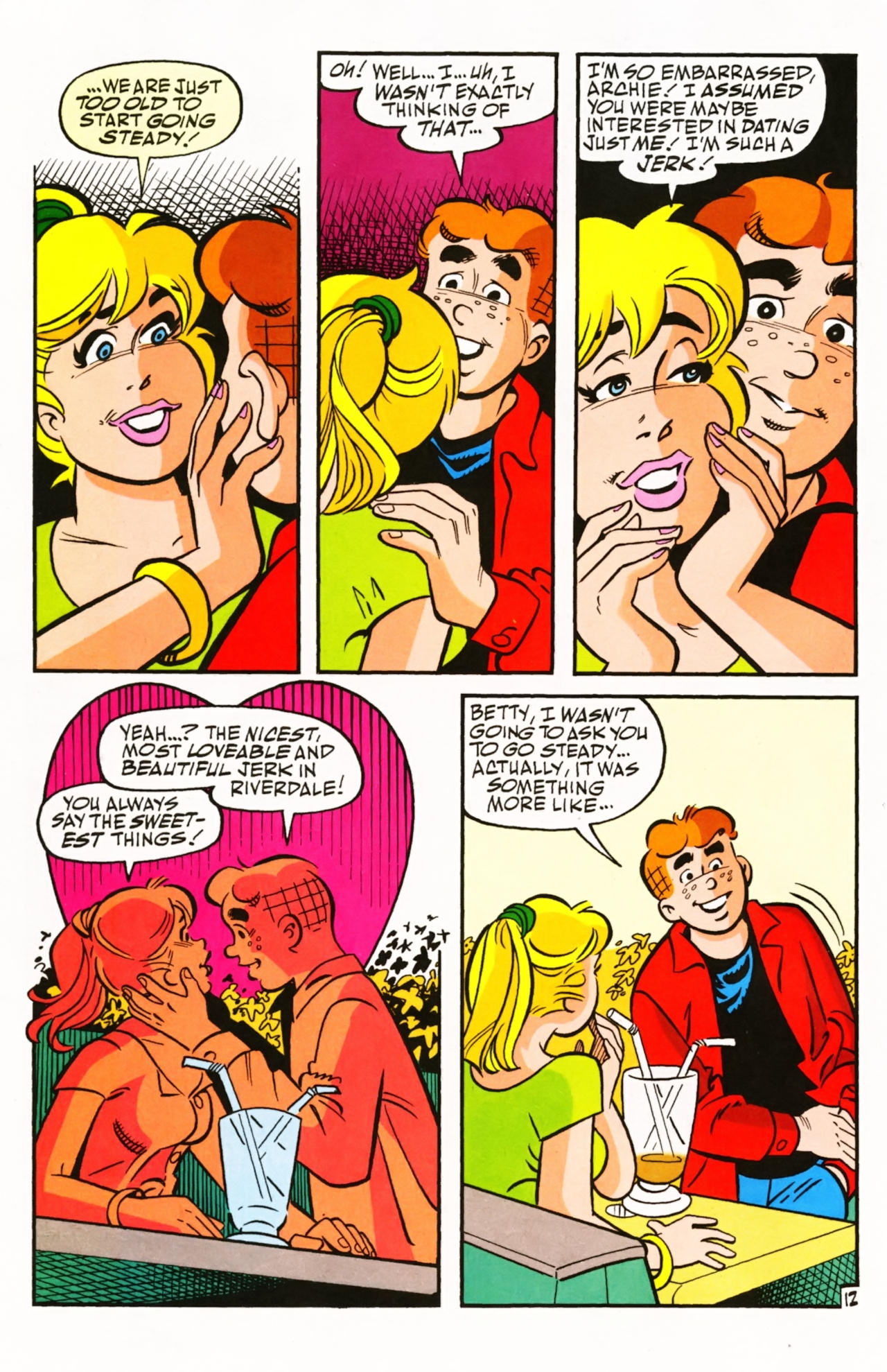 Read online Archie (1960) comic -  Issue #603 - 19