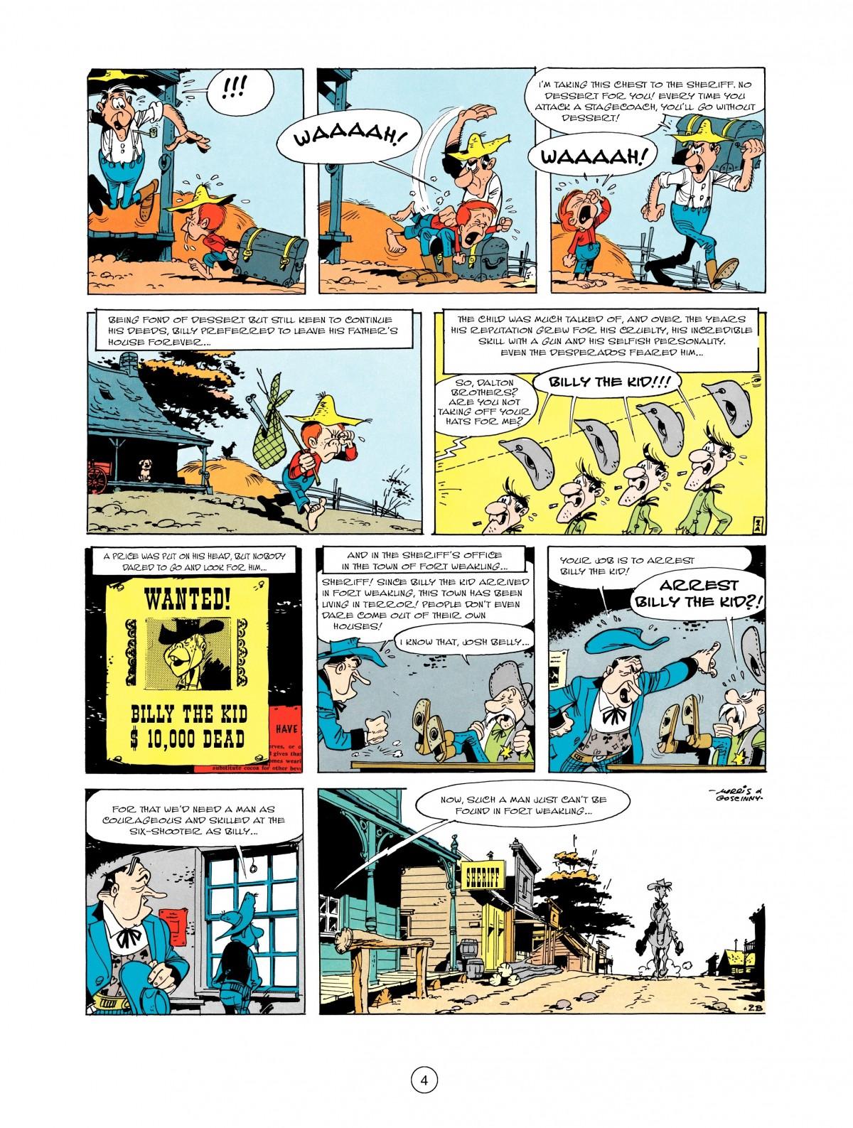 Read online A Lucky Luke Adventure comic -  Issue #1 - 6