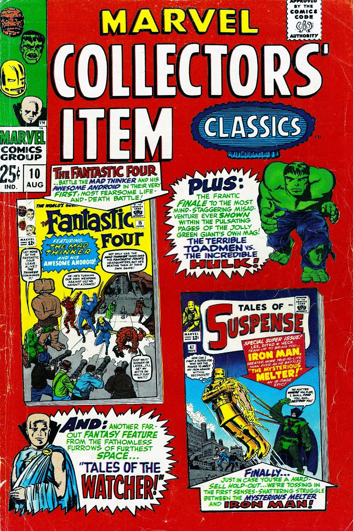 Marvel Collectors Item Classics 10 Page 1