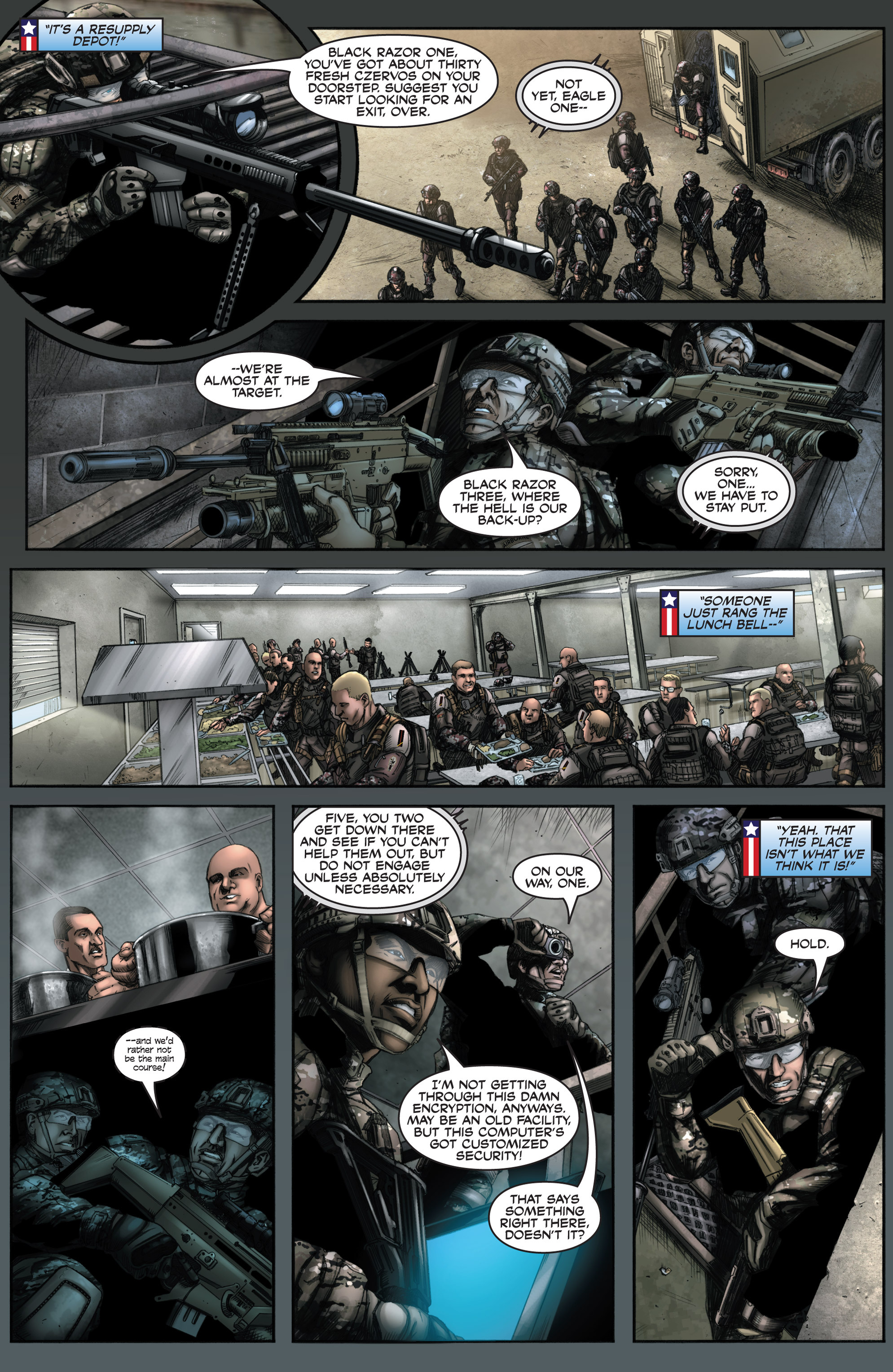Read online America's Army comic -  Issue #8 - 20