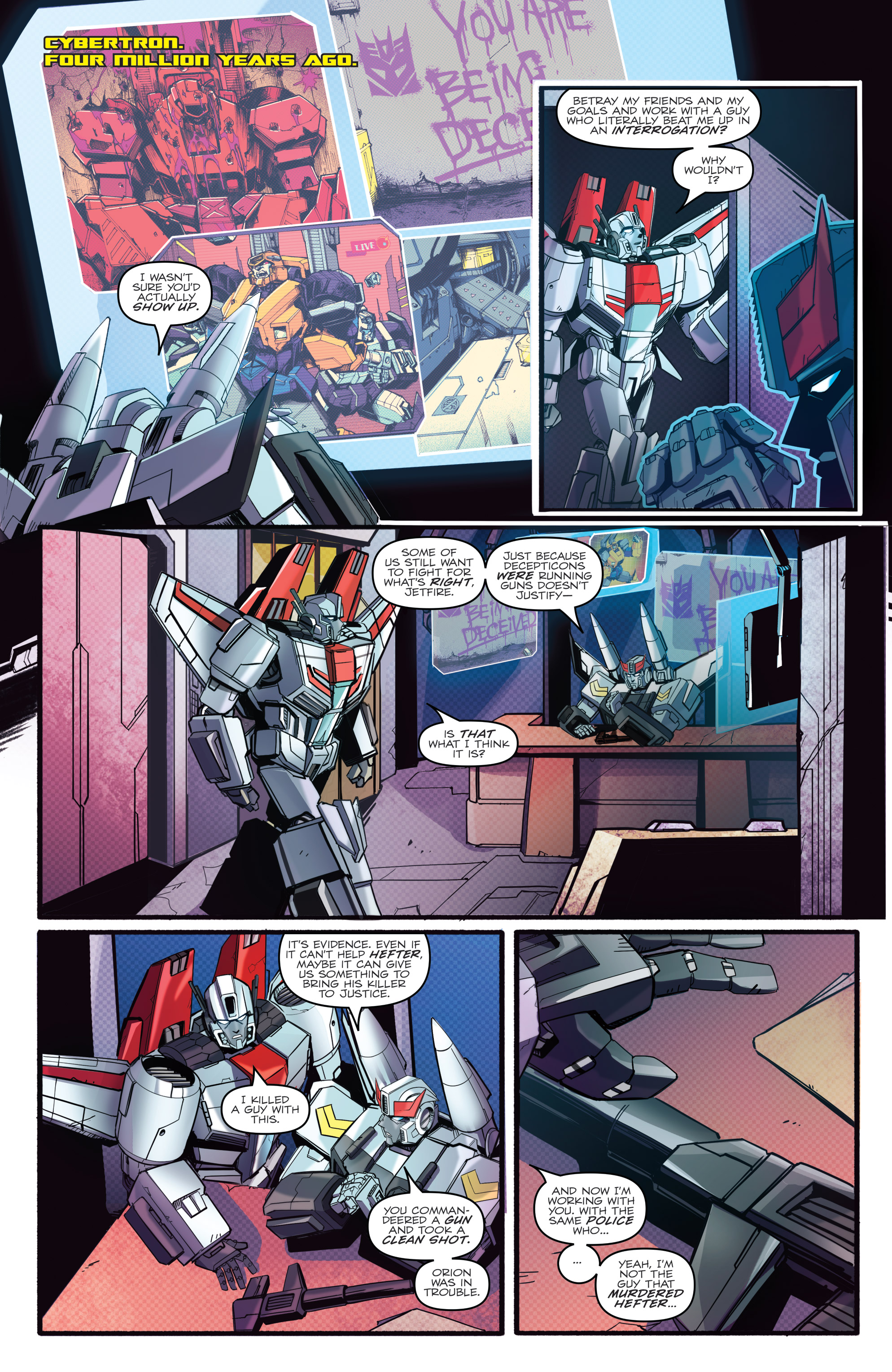 Read online Optimus Prime comic -  Issue #7 - 5