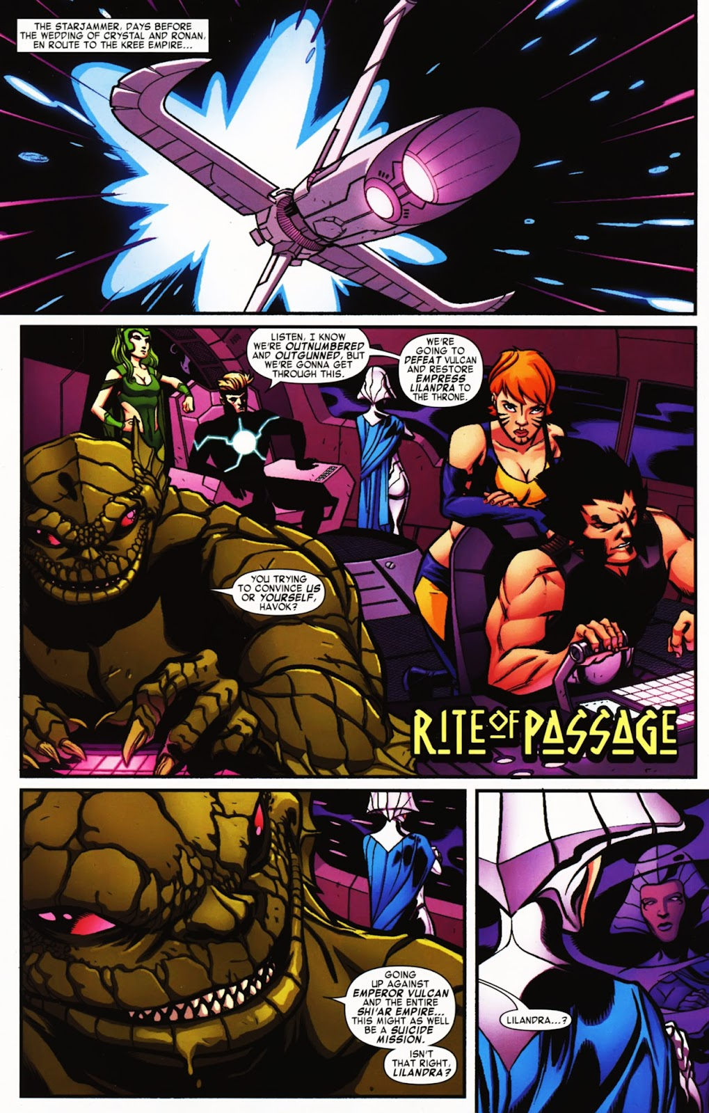 War of Kings: Warriors Issue #2 #2 - English 19