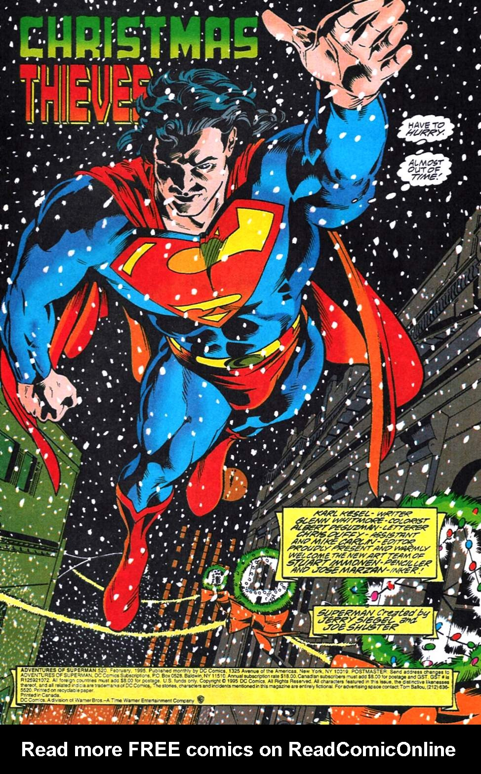 Read online Adventures of Superman (1987) comic -  Issue #520 - 2