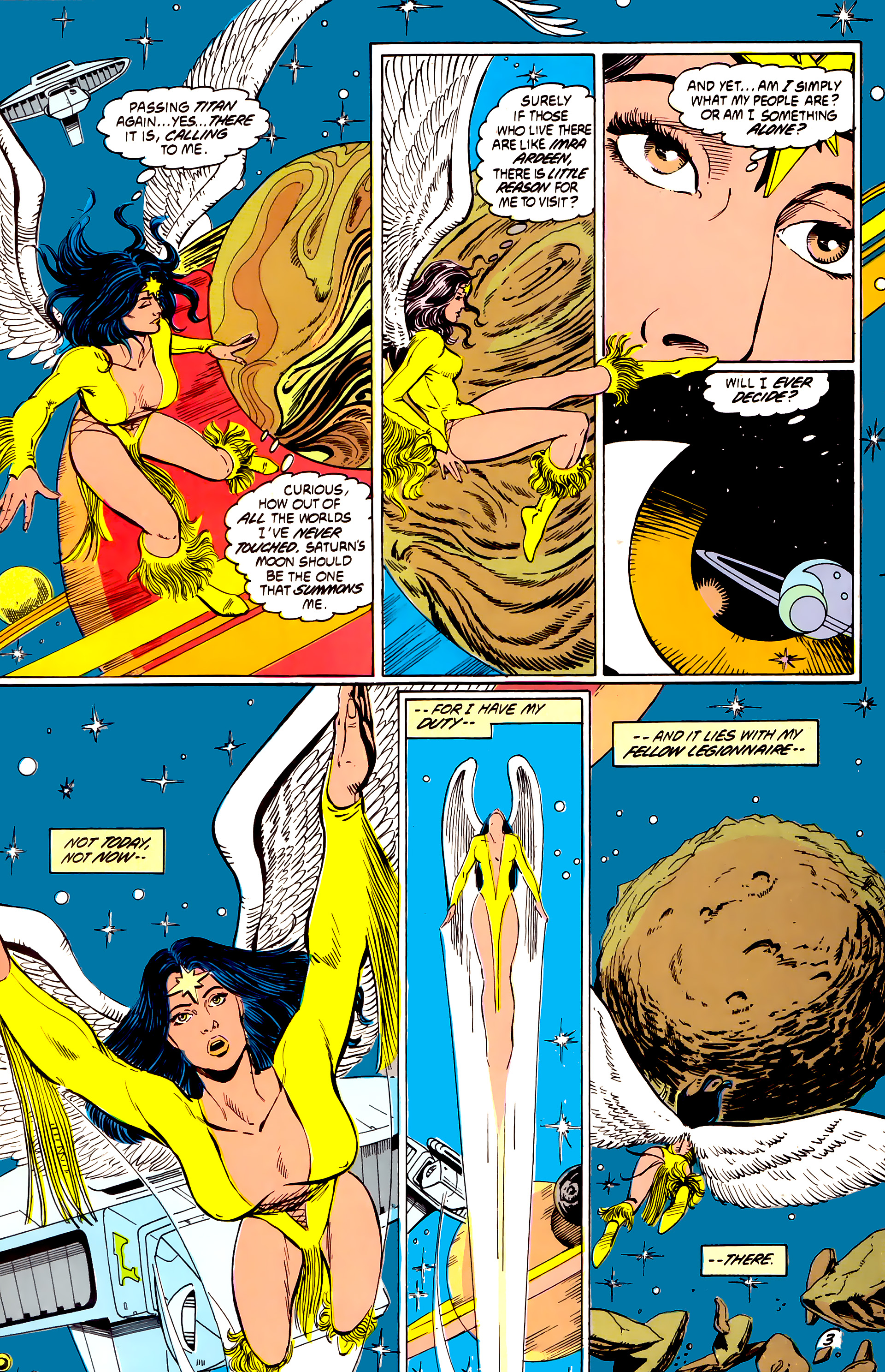 Legion of Super-Heroes (1984) _Annual_4 Page 3