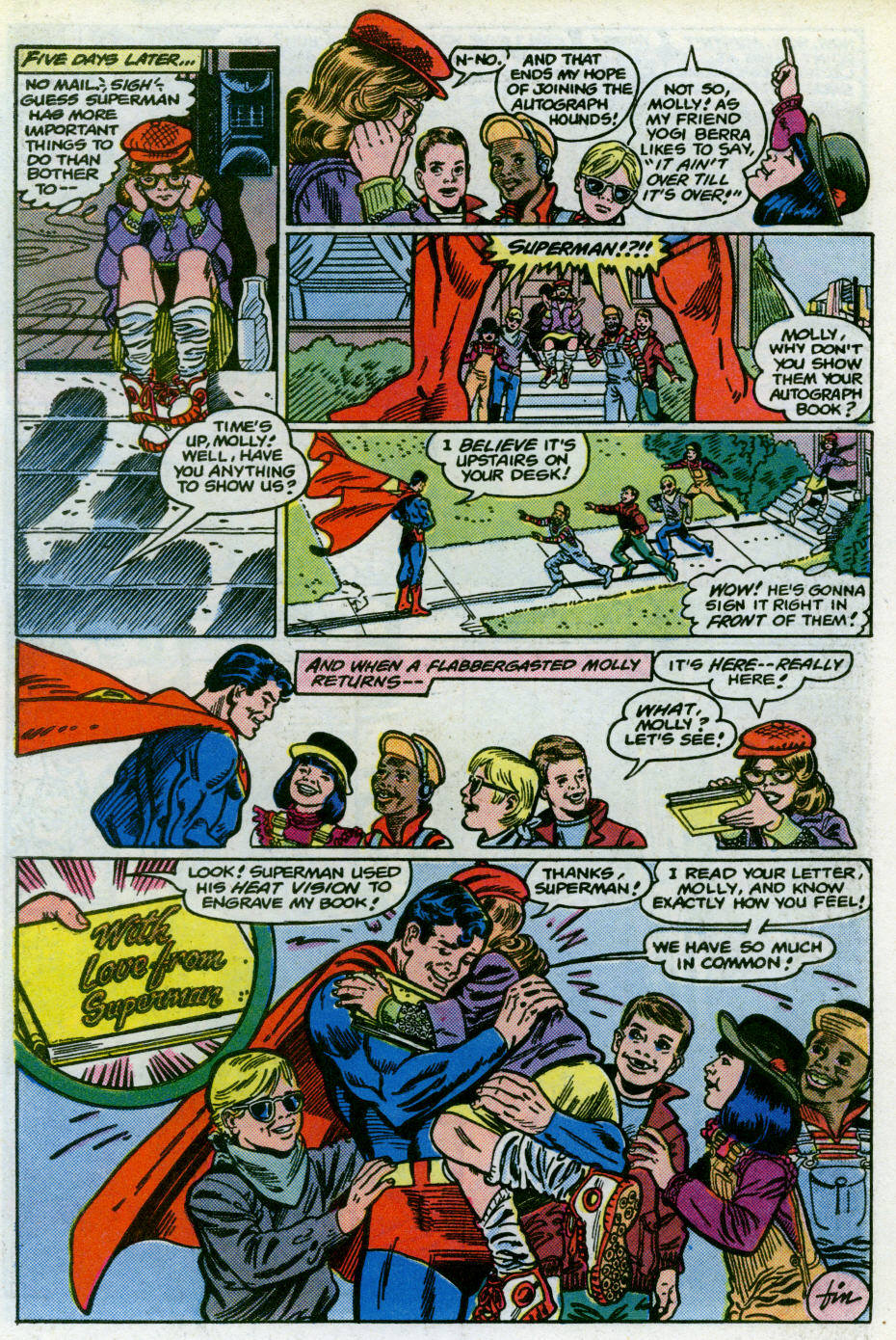 Read online Action Comics (1938) comic -  Issue #566 - 27