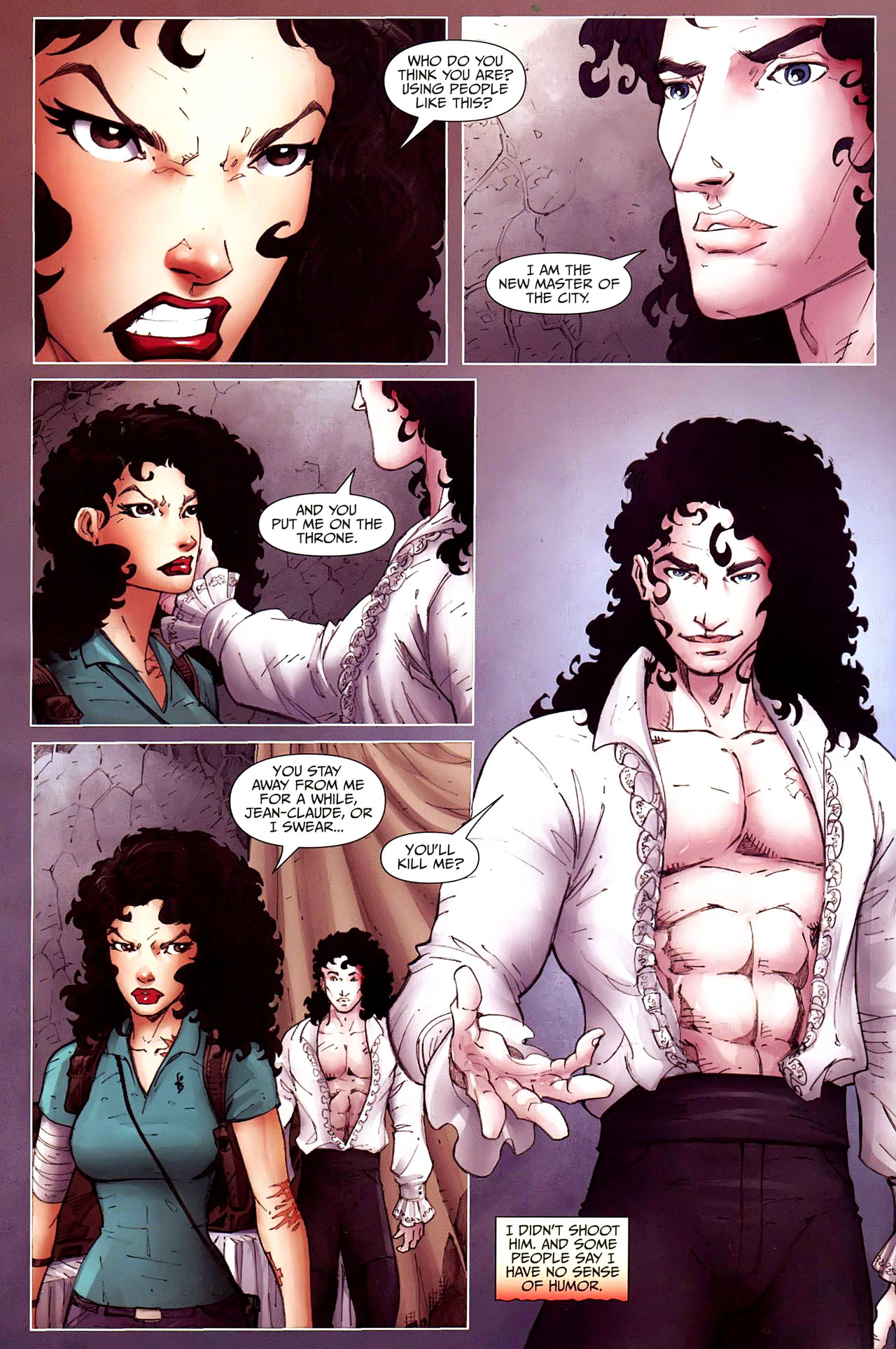 Read online Anita Blake, Vampire Hunter: Guilty Pleasures comic -  Issue #12 - 21