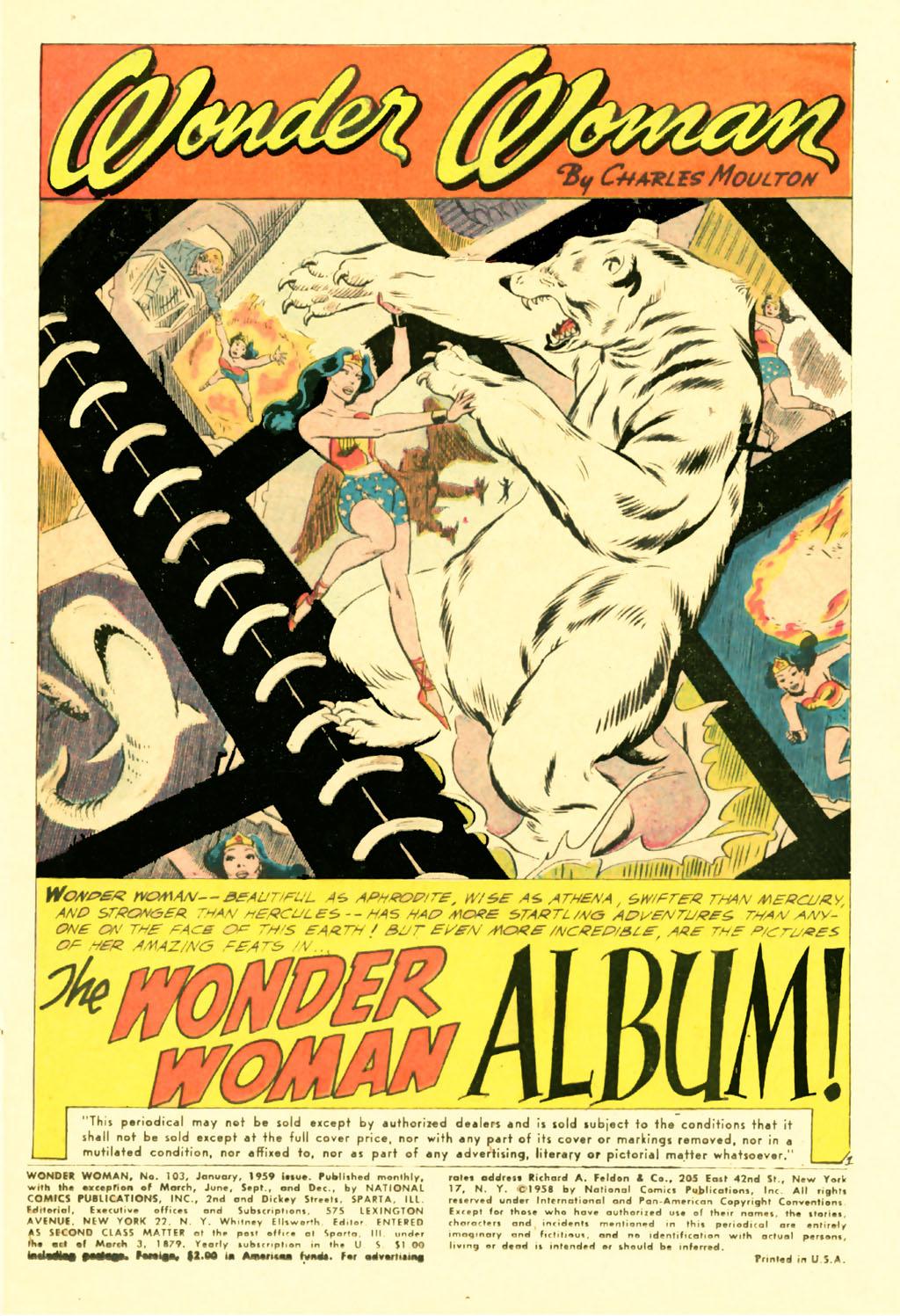 Read online Wonder Woman (1942) comic -  Issue #103 - 3
