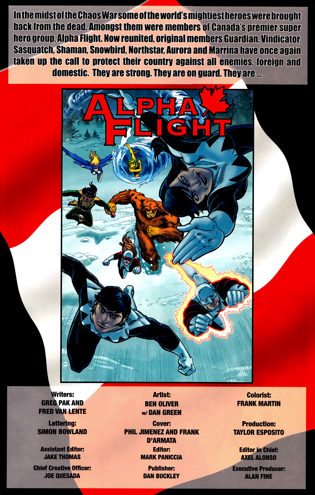 Read online Alpha Flight (2011) comic -  Issue #0.1 - 2