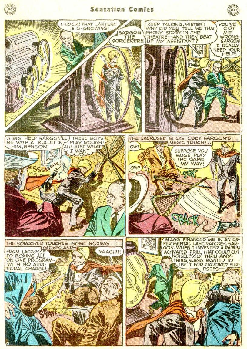 Read online Sensation (Mystery) Comics comic -  Issue #77 - 27