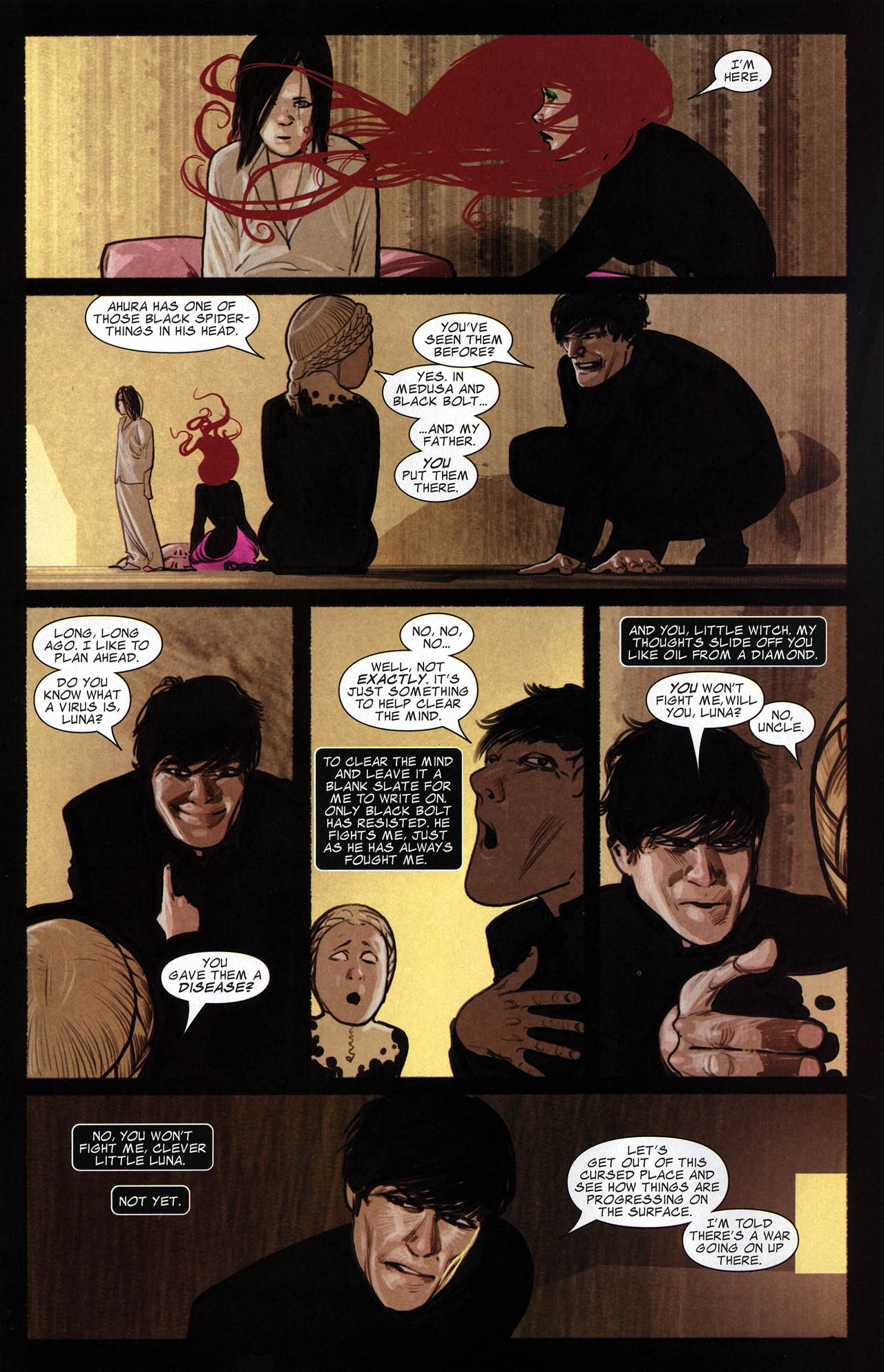 Read online Silent War comic -  Issue #6 - 10