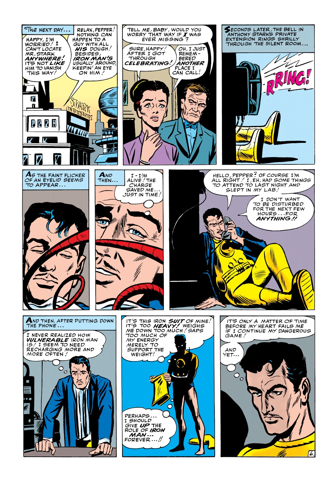 Read online Marvel Masterworks: The Invincible Iron Man comic -  Issue # TPB 1 (Part 2) - 45