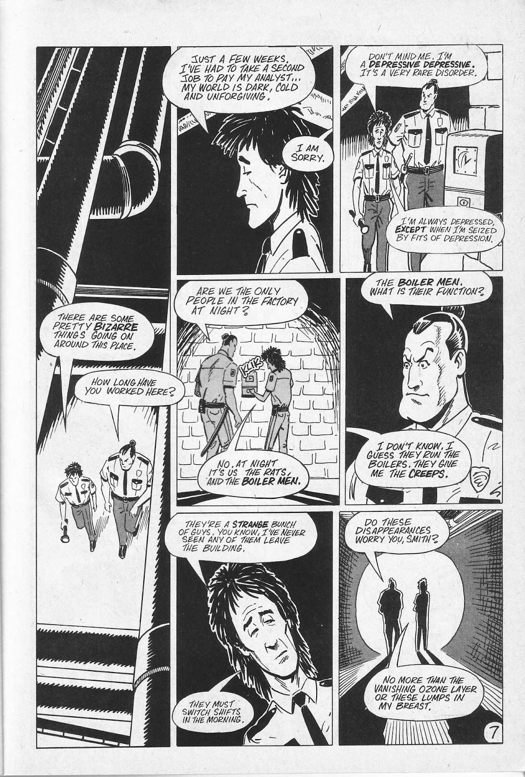 Read online Paul the Samurai (1991) comic -  Issue # TPB - 13