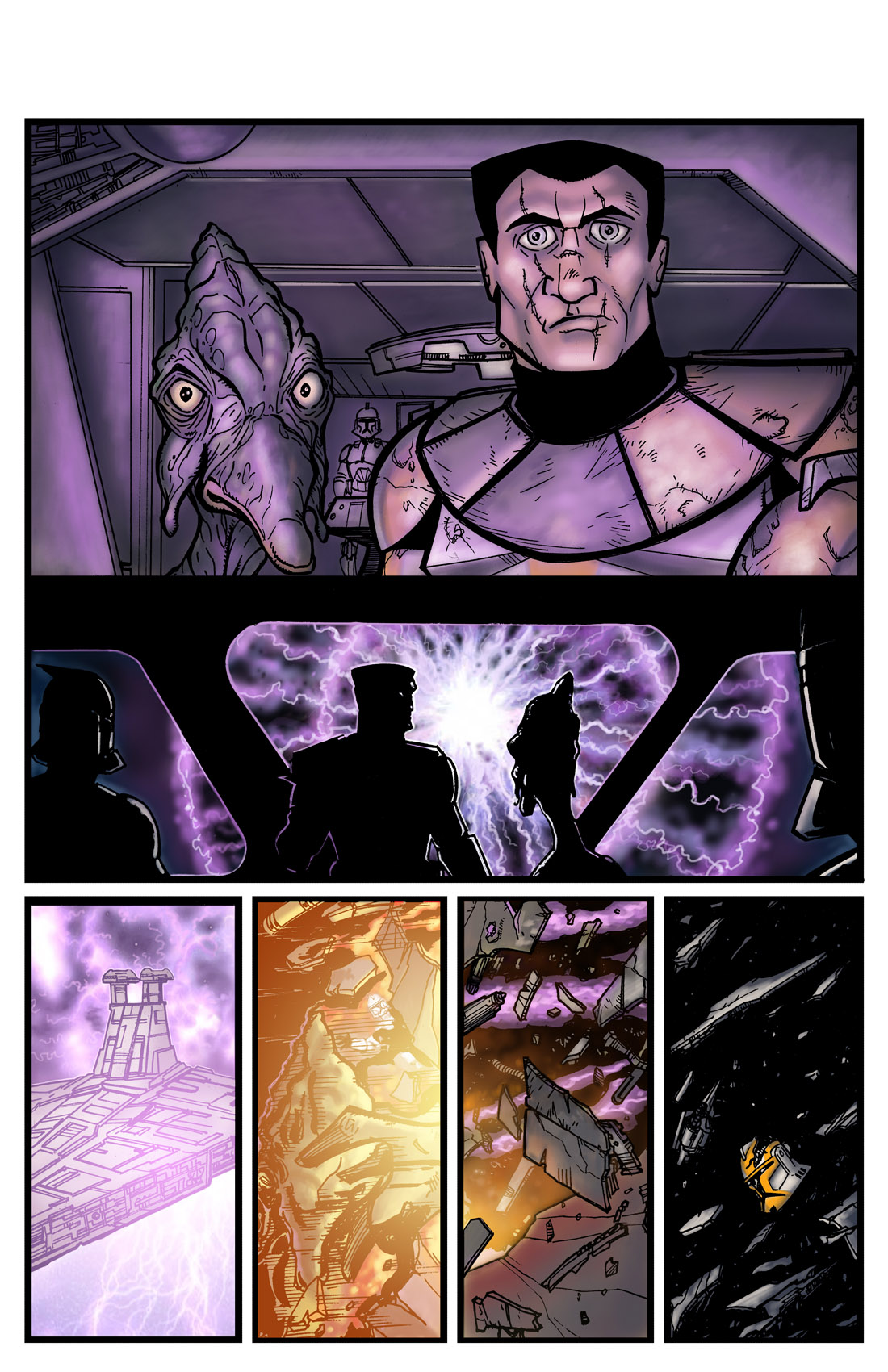 Read online Star Wars: Tales From The Clone Wars comic -  Issue # TPB - 15